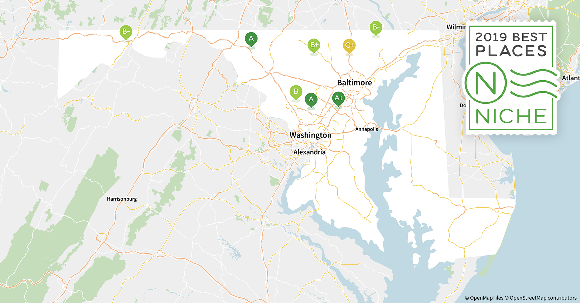 Howard County Md Zip Code Map.2019 Best Maryland Counties To Live In Niche