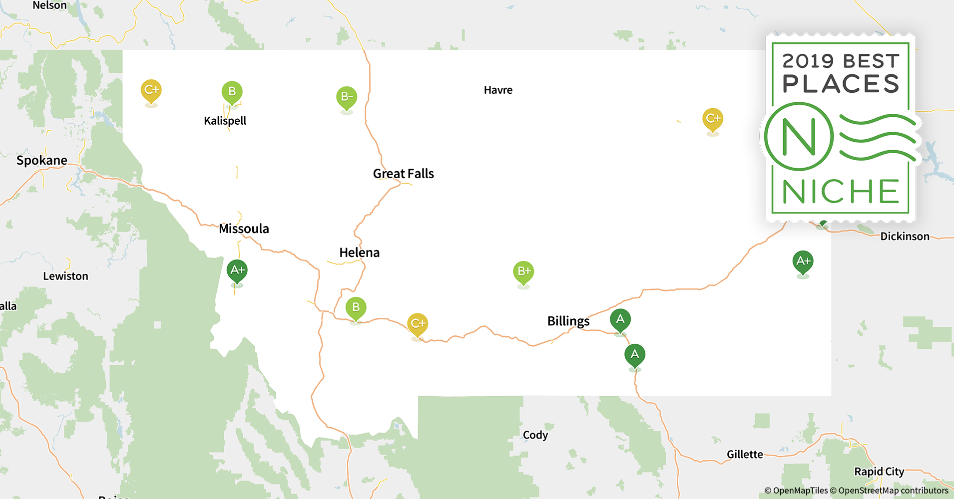 2019 Best Places to Live in Montana - Niche