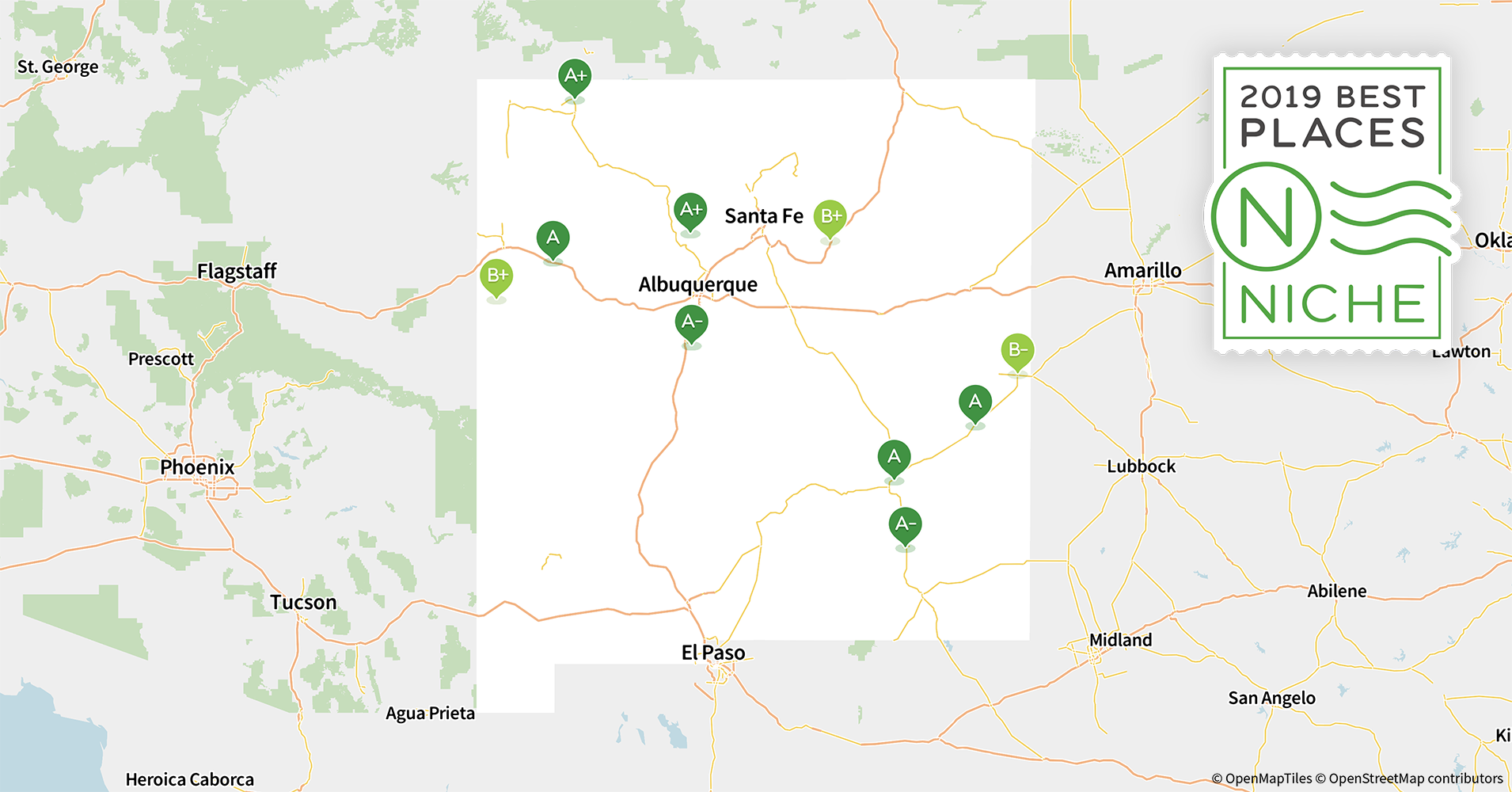 2019 Best Places to Live in New Mexico - Niche