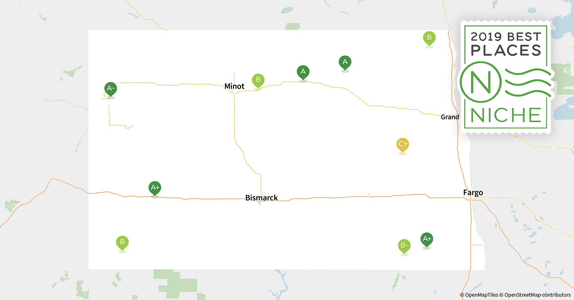 2019 Most Diverse Places to Live in North Dakota - Niche Map Of Cities Near Minot North Dakota on map of arcata ca, map of carson city nevada, map of troy new york, map of casa grande arizona, map of la grande oregon, map of evanston illinois, map of spearfish south dakota, map of terranea, map of alamogordo new mexico, map of north minot nd, map of aberdeen south dakota, map of new haven connecticut, map of minot state, map of minot beach, map nd north dakota, map of winter garden florida, map of cedar rapids iowa, map of boone iowa, map of ashland ohio, map of hutchinson kansas,