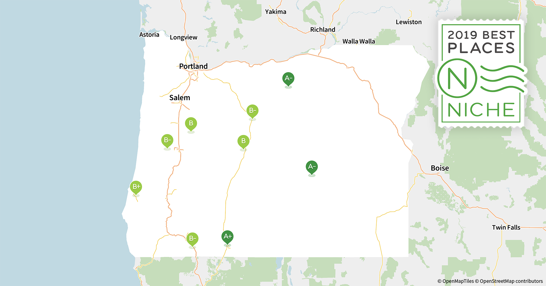 2019 Places With The Best Public Schools In Oregon Niche