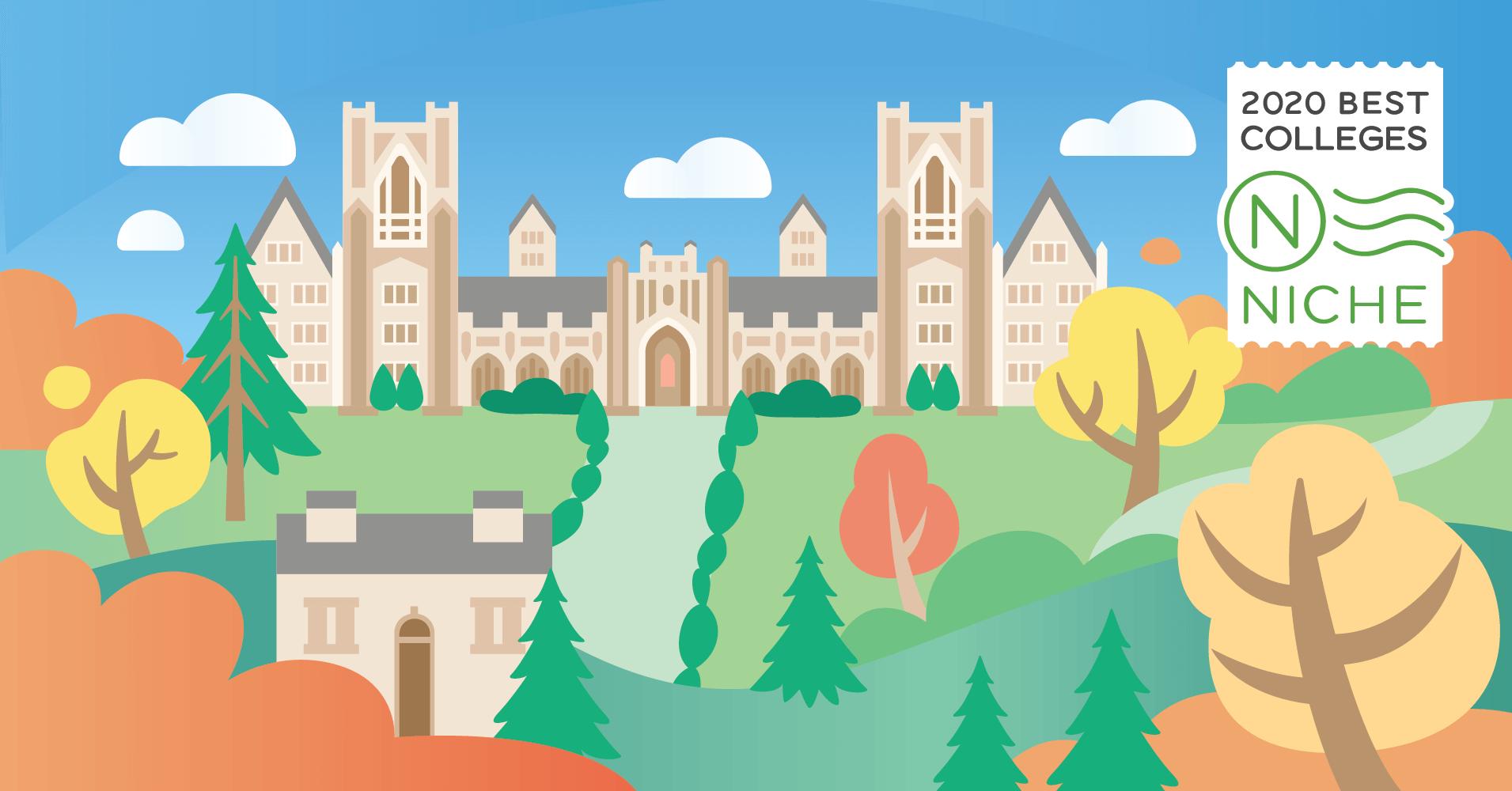 Best Colleges 2020.2020 Best Colleges In America Niche