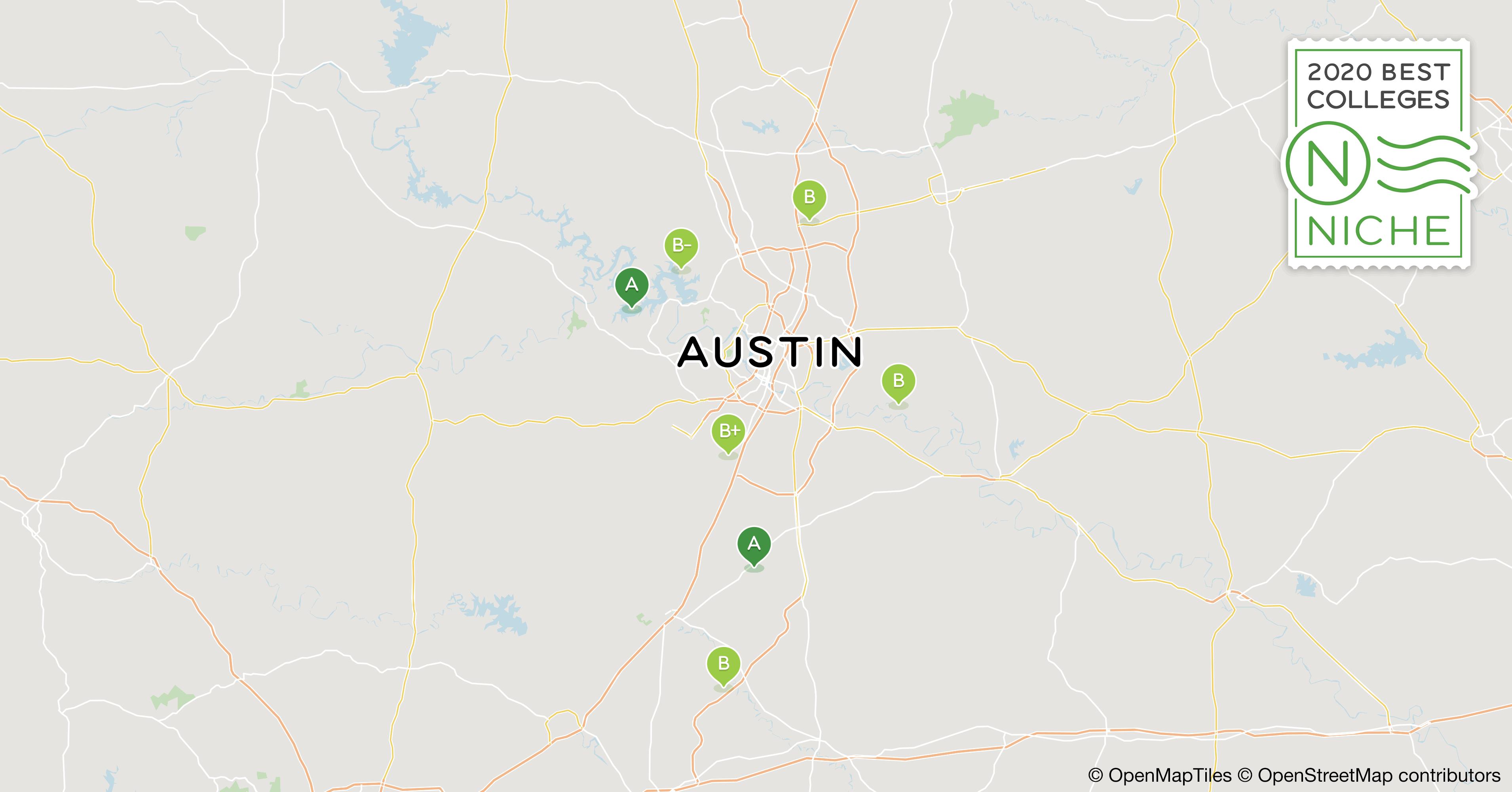 Best Places To Work In Austin 2020 2020 Best Colleges in Austin Area   Niche