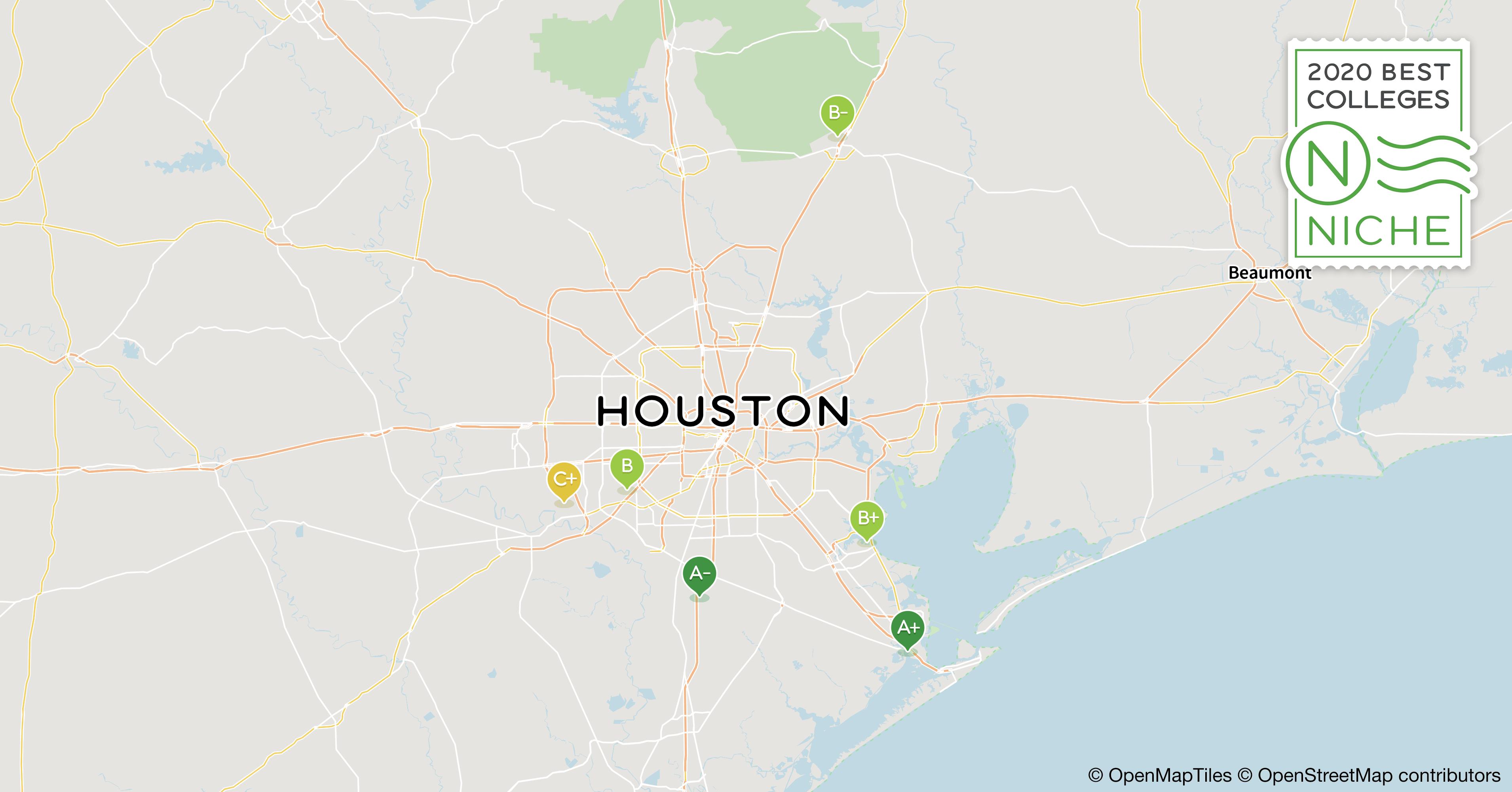 2020 Best Nursing Schools in Houston Area - Niche