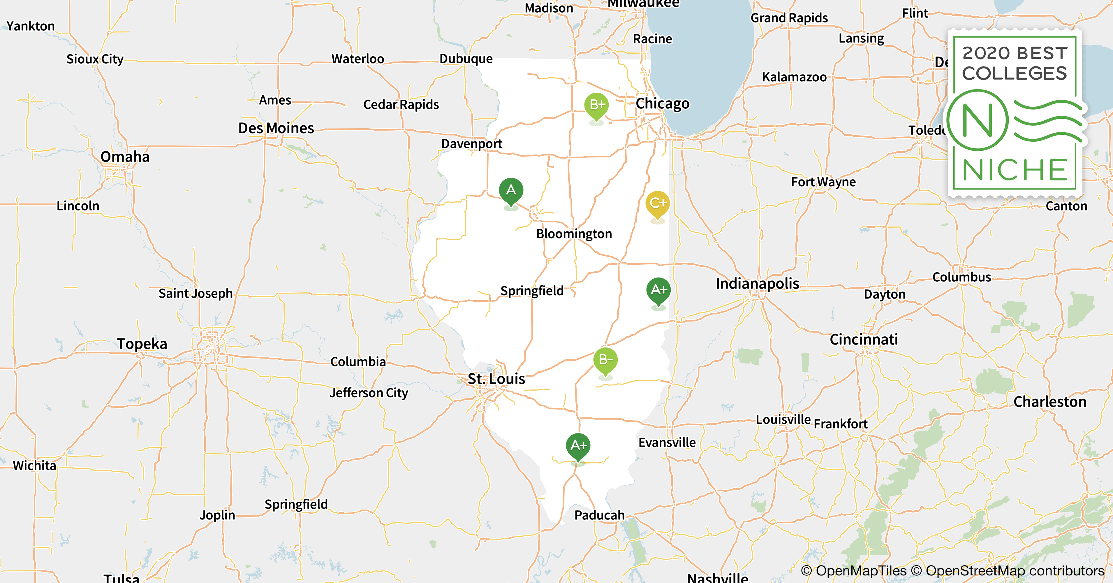 2020 Best Colleges in Illinois - Niche