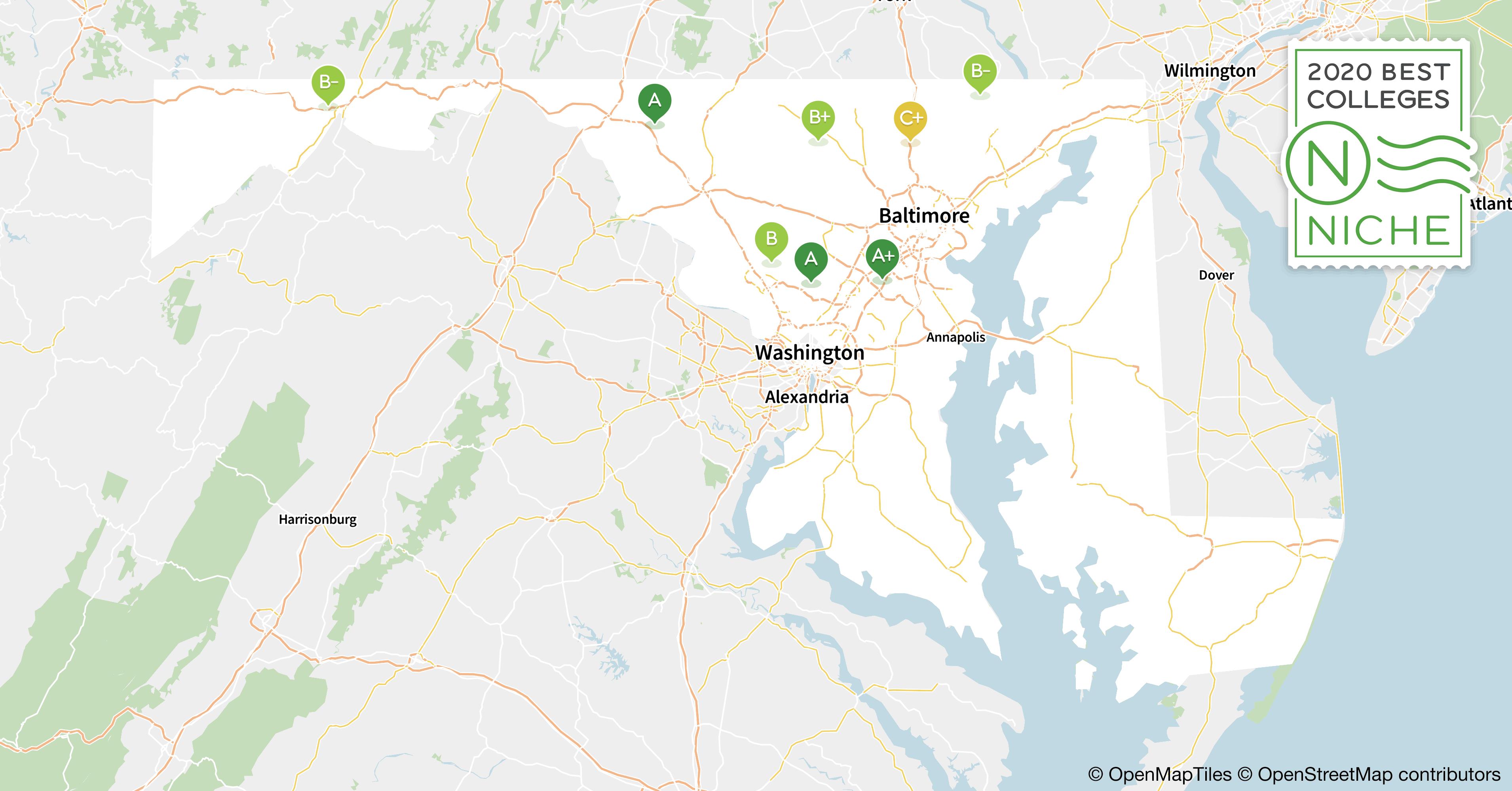 2020 Best Colleges in Maryland - Niche