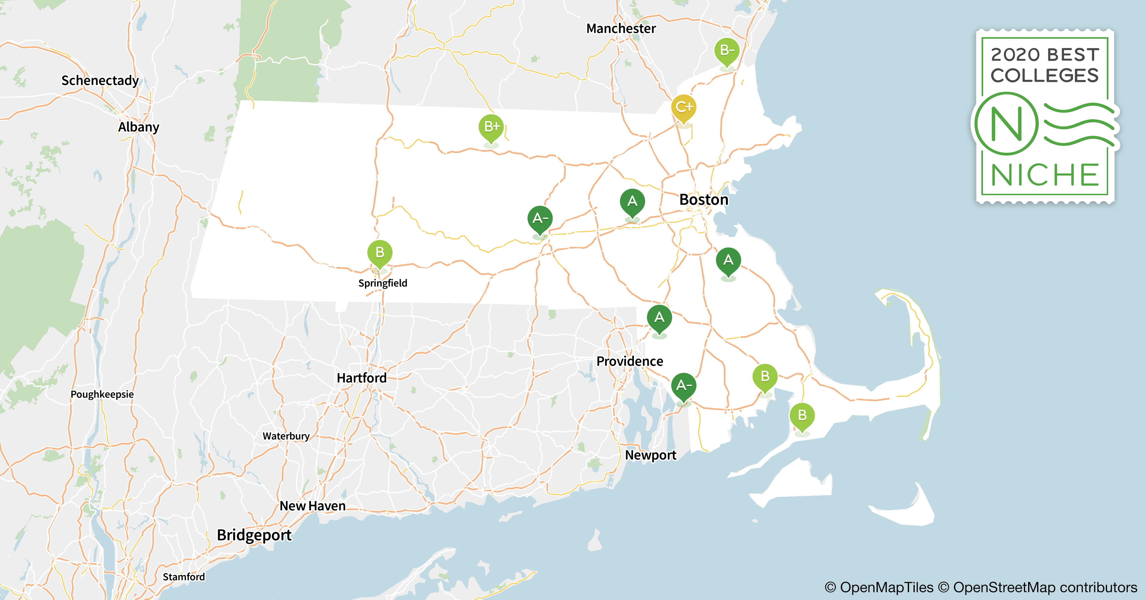 2020 Best Colleges in Massachusetts - Niche