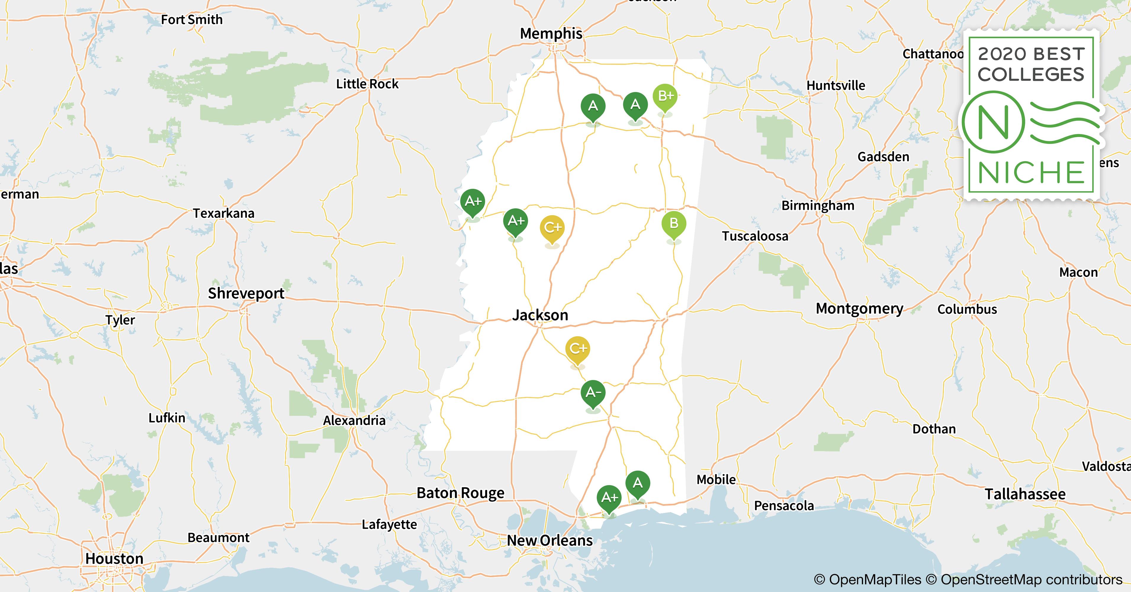 2020 Best Colleges in Mississippi - Niche