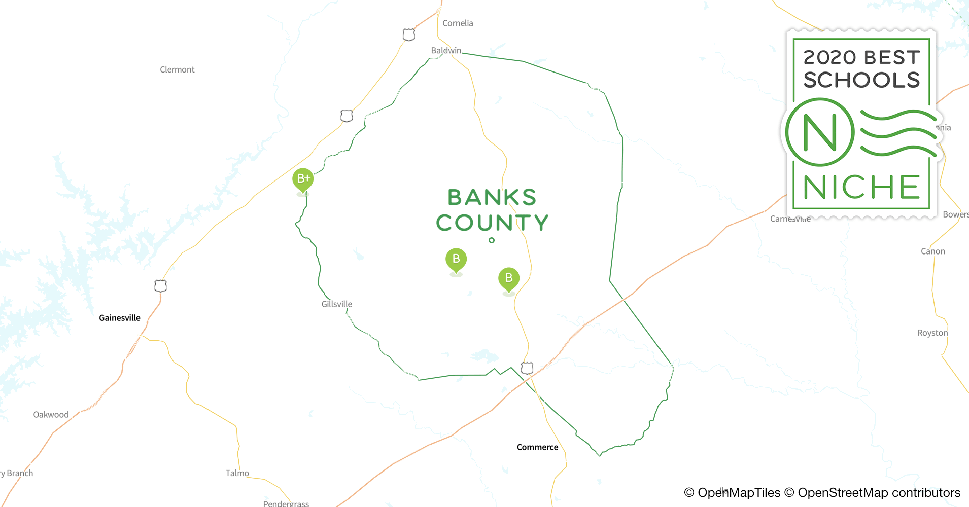 Private Schools in Banks County, GA - Niche