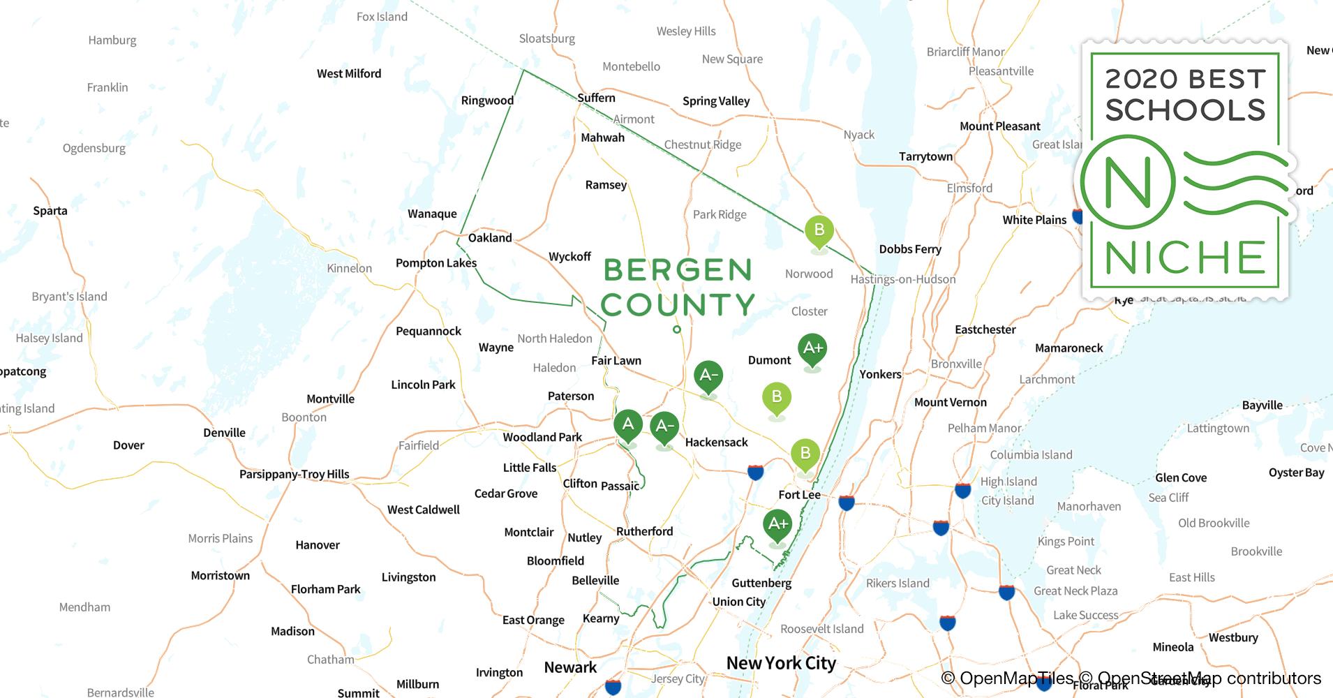 School Districts In Bergen County Nj Niche