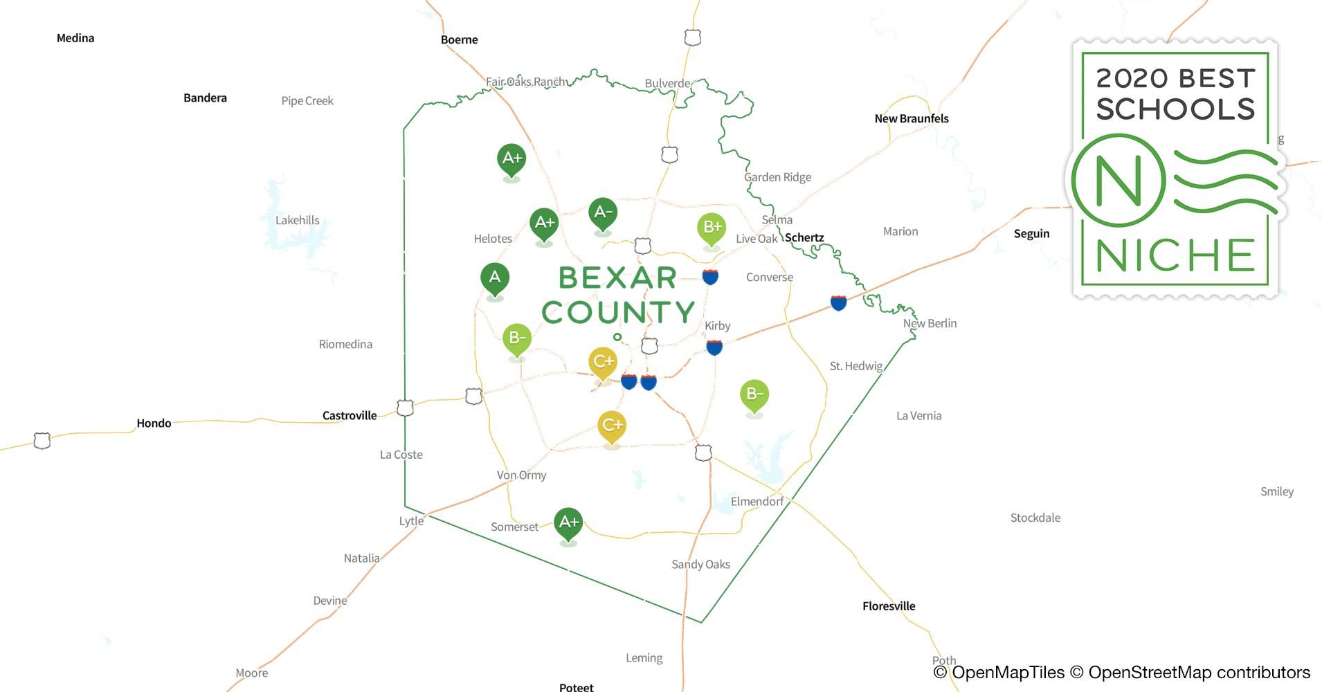School Districts in Bexar County, TX - Niche