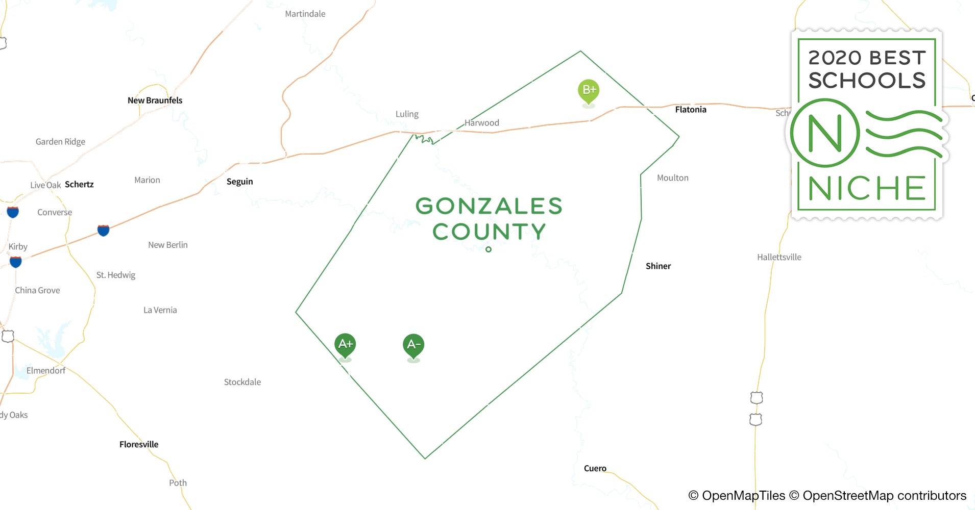 Districts in Gonzales County, TX - Niche on rhome texas county map, brown county, caldwell county, marshall county texas map, colorado county, madisonville county texas map, collingsworth county texas map, dewitt county, brownwood county texas map, gonzales texas on a map, karnes county, colorado county texas map, gonzales texas aerial, lavaca county, zavala county, fayette county texas road map, harrison county texas map, fannin county, harris county, guadalupe county texas map, bryan county texas map, gonzales texas 2014, benton county texas map, adams county texas map, beaumont county texas map, bell county, wilson county, mclennan county, lavaca county texas map, kingsville county texas map, comal county, guadalupe county, jackson county, burnet county, san antonio county texas map, bexar county, pasadena county texas map,