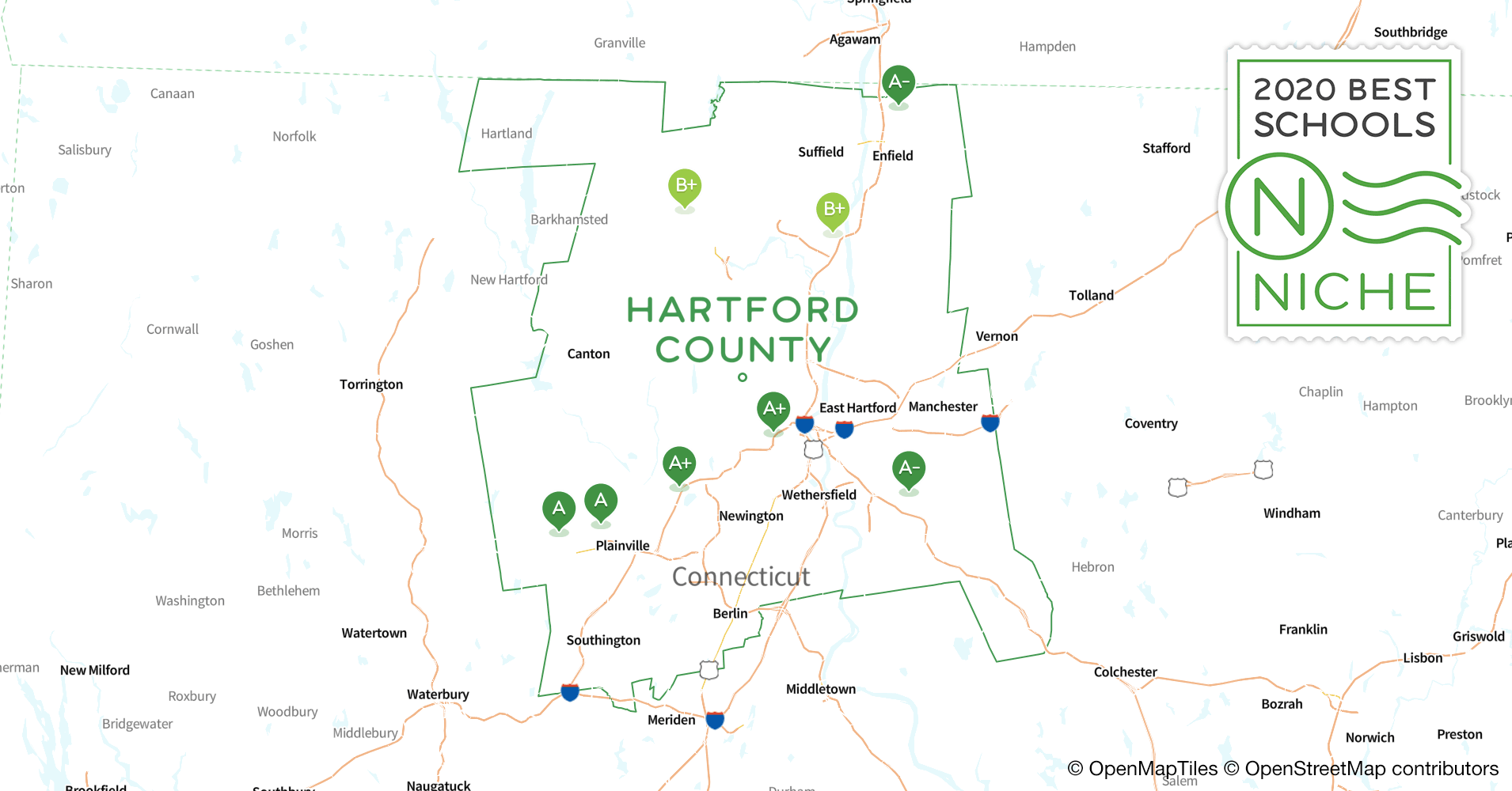 School Districts in Hartford County, CT - Niche