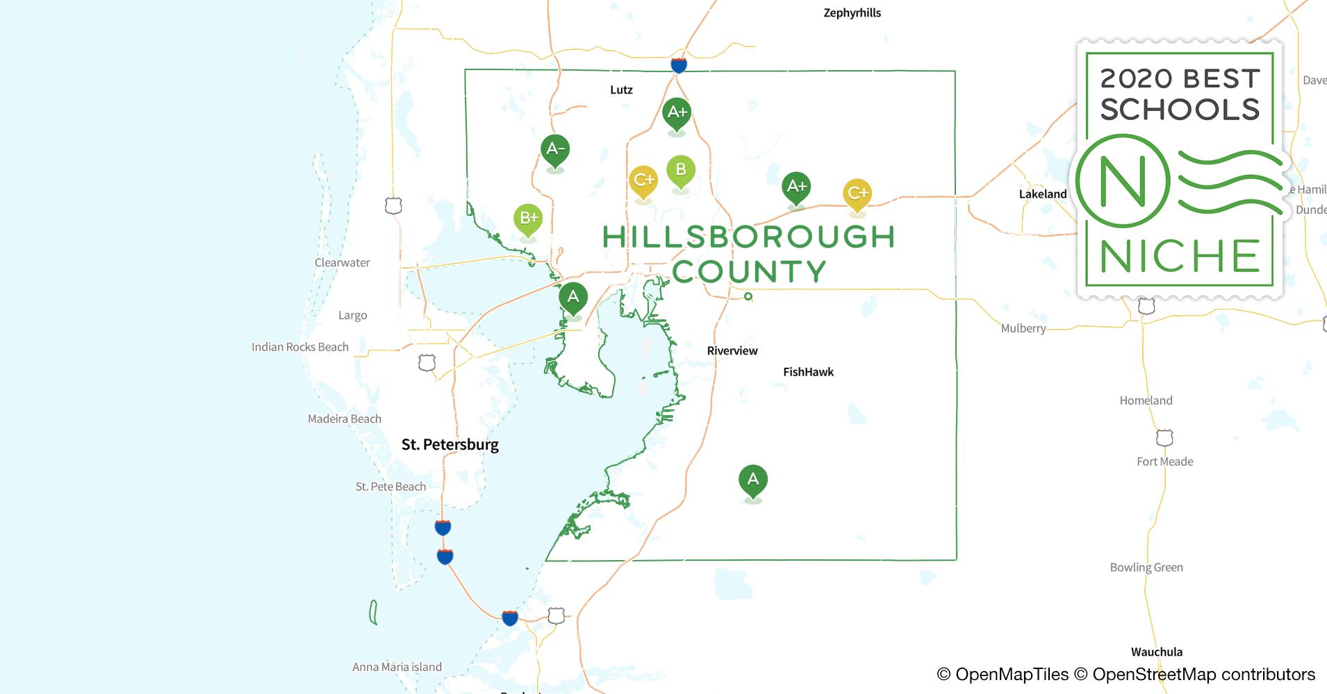 school districts in hillsborough county  fl