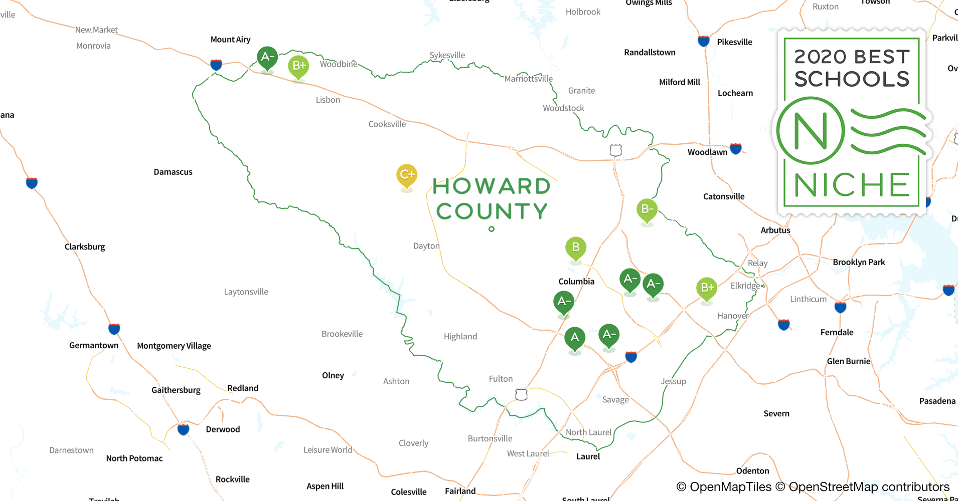 Best Rsps 2020 Private Schools in Howard County, MD   Niche