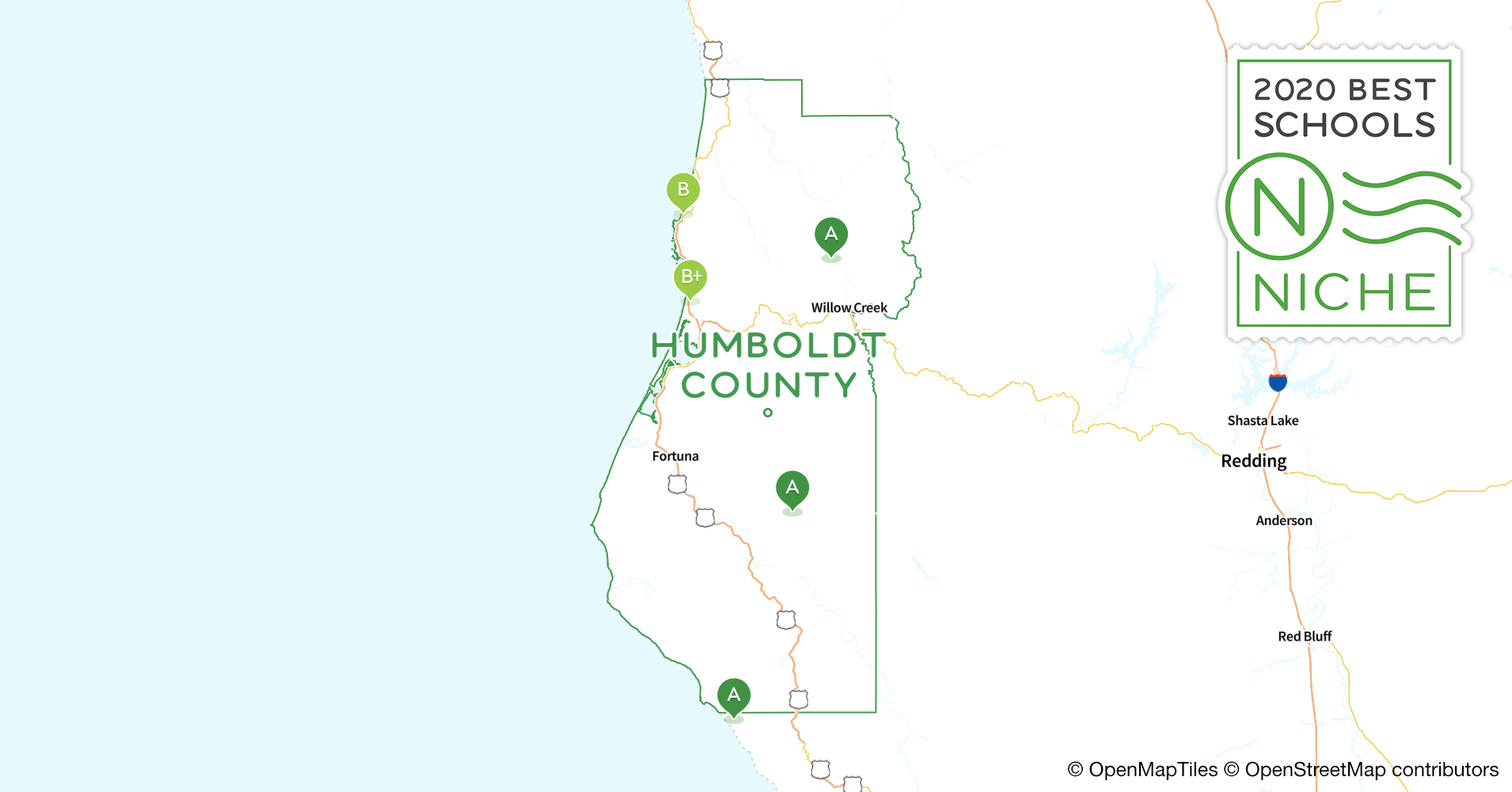School Districts in Humboldt County, CA - Niche