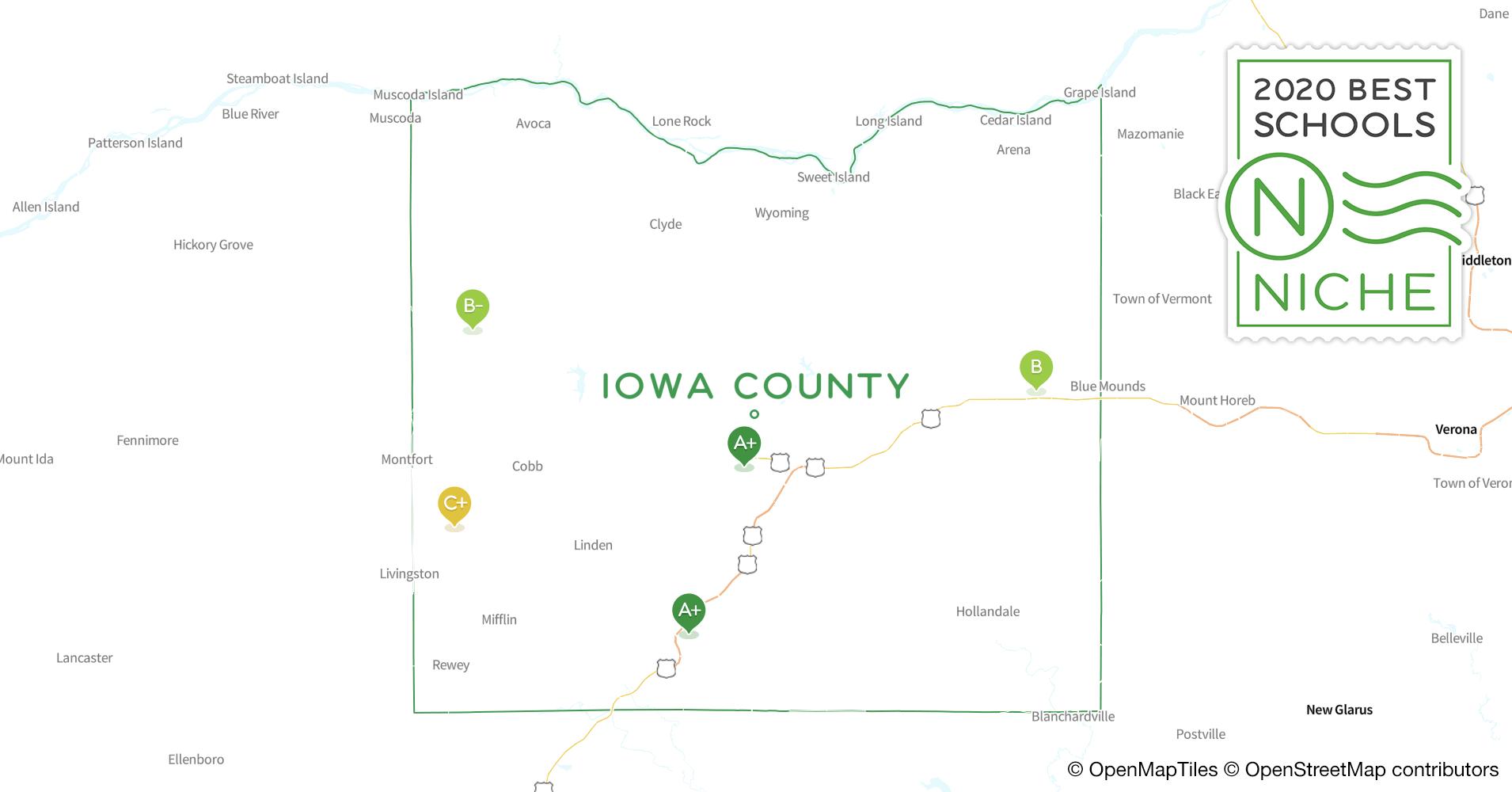 School Districts in Iowa County, WI - Niche