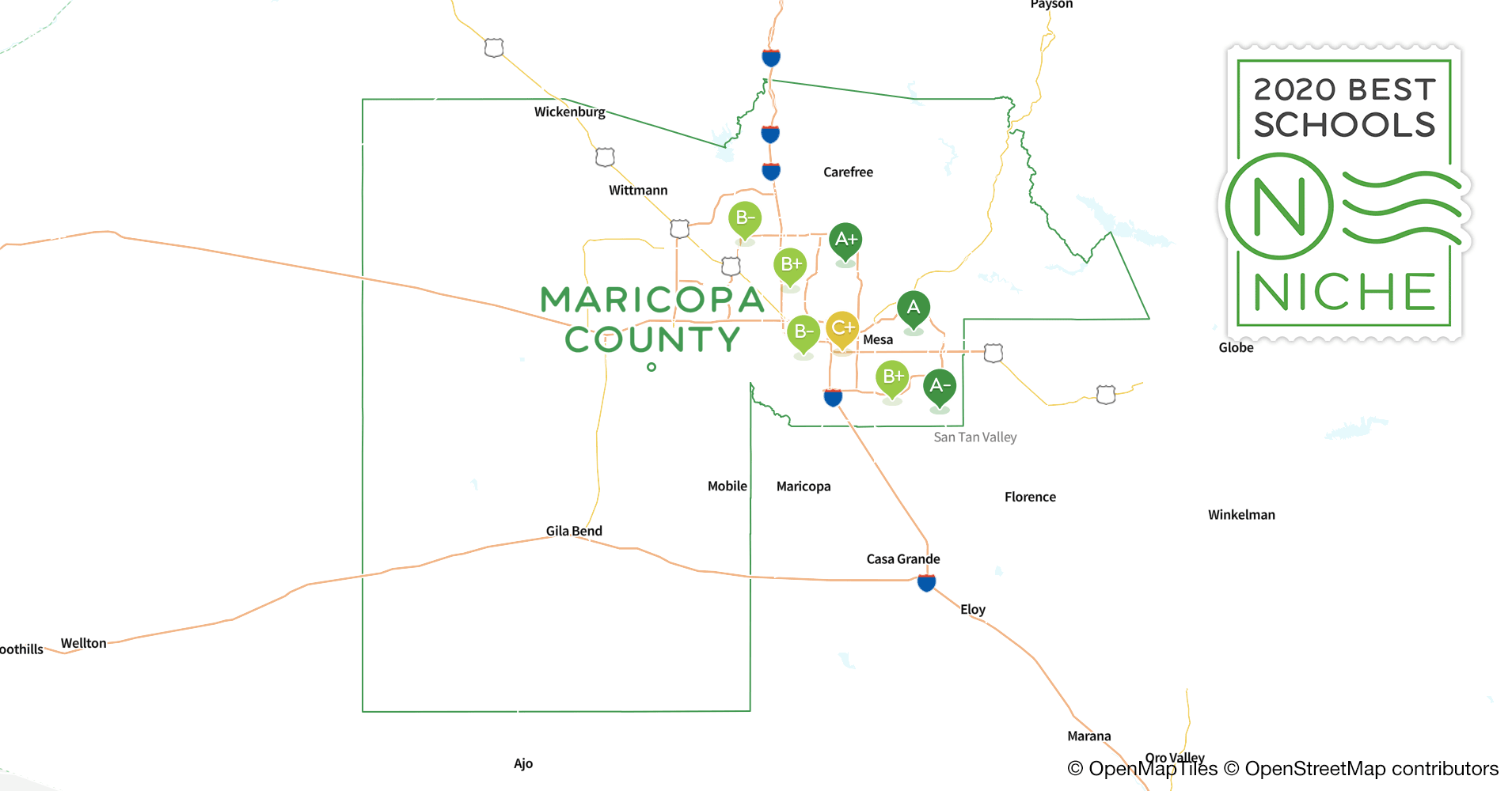 School Districts in Maricopa County, AZ - Niche
