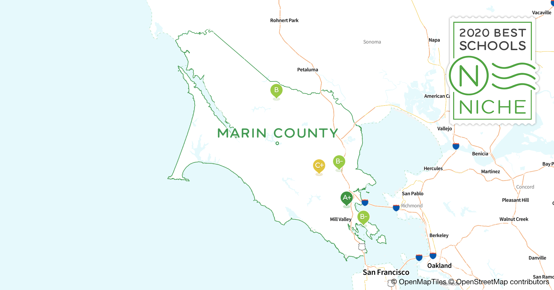 Picture of: 2020 Largest Public Elementary Schools In Marin County Ca Niche