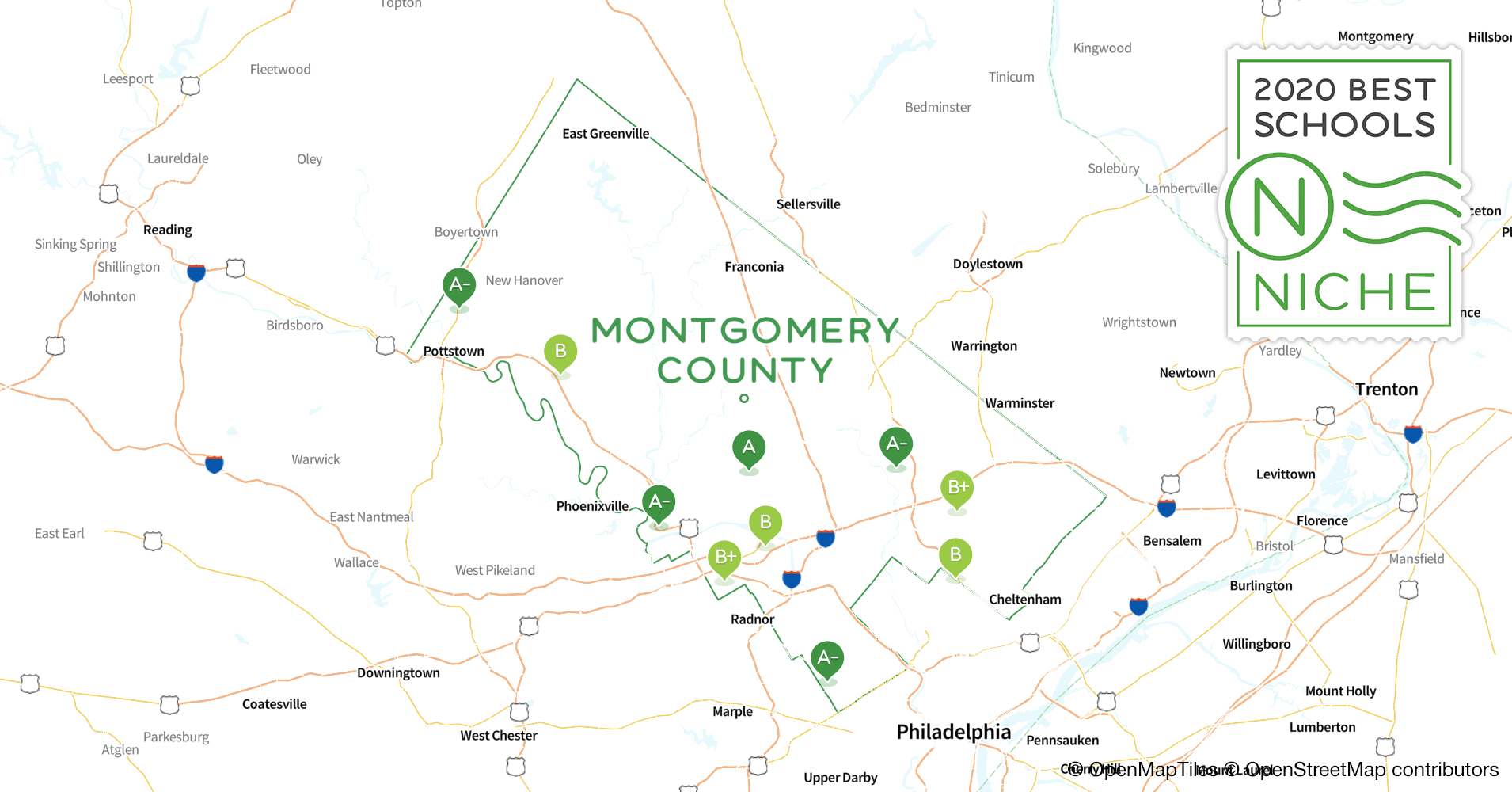 School Districts in Montgomery County, PA - Niche