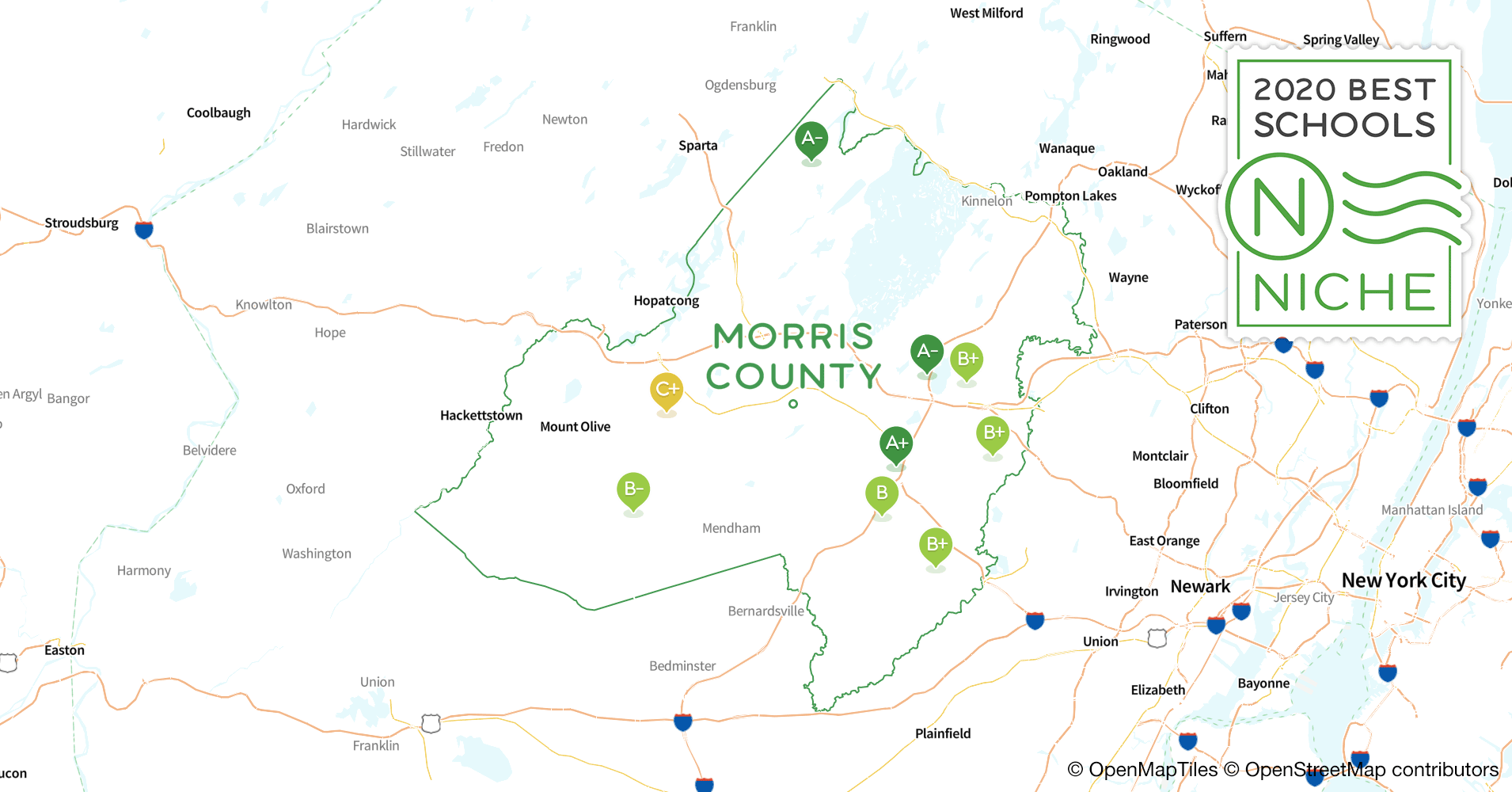 K-12 s in Morris County, NJ - Niche Map Of Es County Nj on map of nj districts, map of nj train stations, map of nj warren, map of nj town, map of nj elevation, map of nj by city, map sc county, map of nj hunting zones, map of nj shoreline, map of nj jackson, map of nj interstates, new york nj county, map of nj coast, map of nj township, map of nj colony, map of nj utilities, map of nj regions, map of nj counties, map of nj state, map nc county,