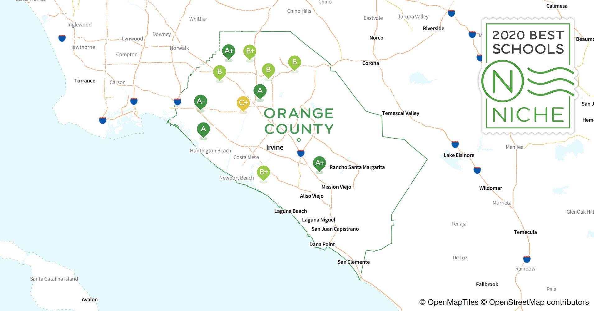 2020 Best Public High Schools in Orange County, CA - Niche
