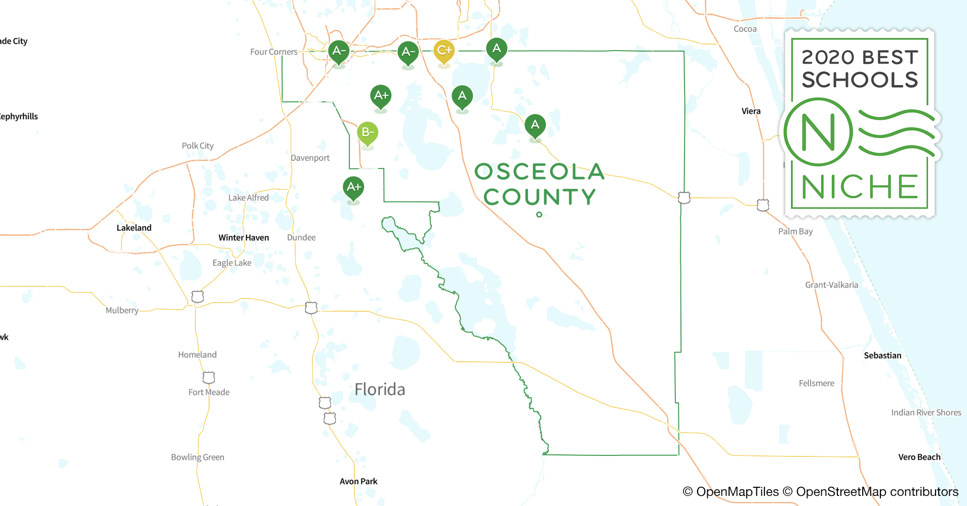 2020 Best Public Elementary Schools in Osceola County, FL ...