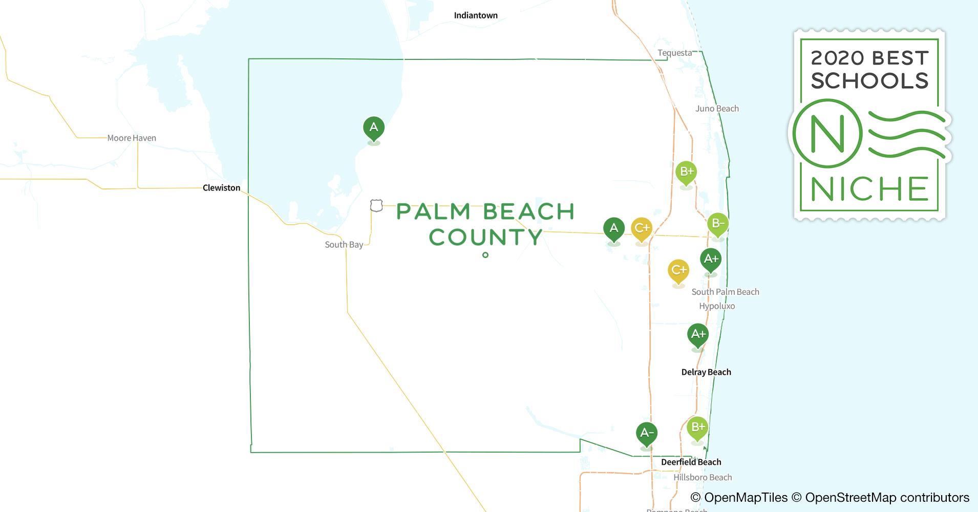 2020 Best Public Elementary Schools in Palm Beach County, FL