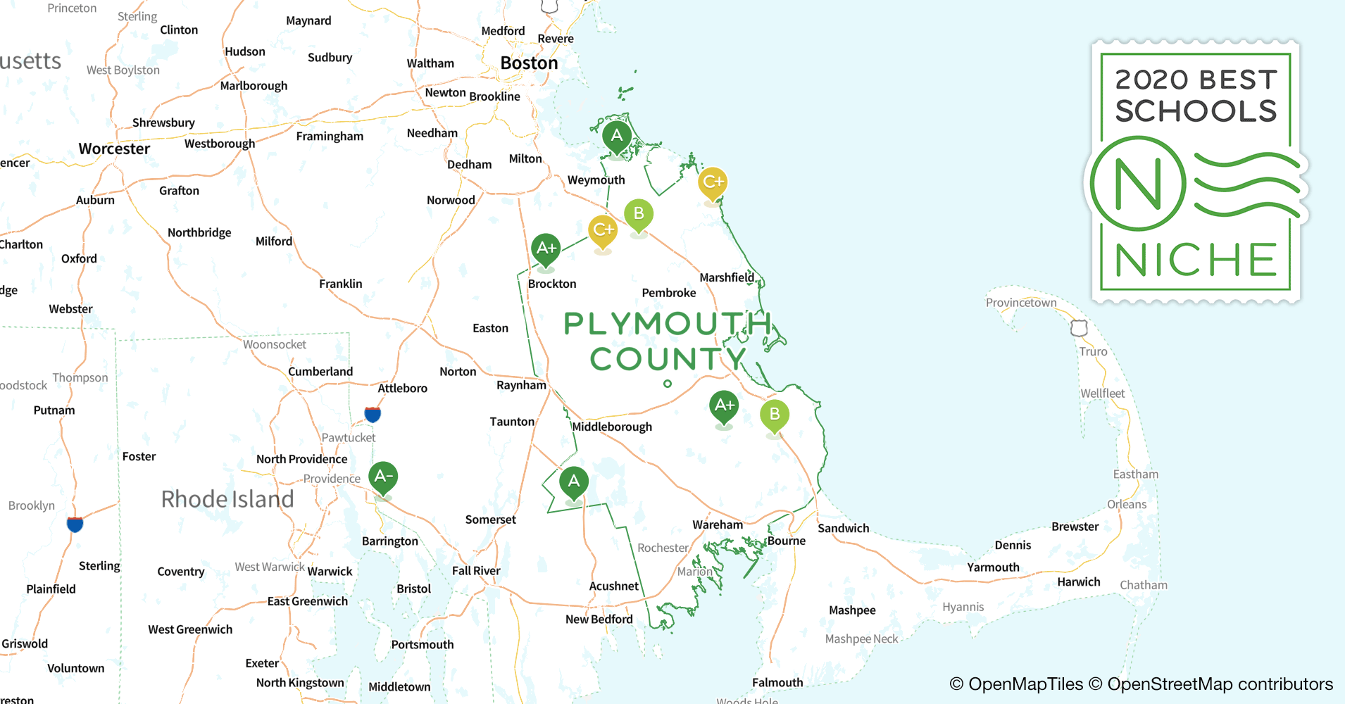 2020 Best High Schools in Plymouth County, MA - Niche