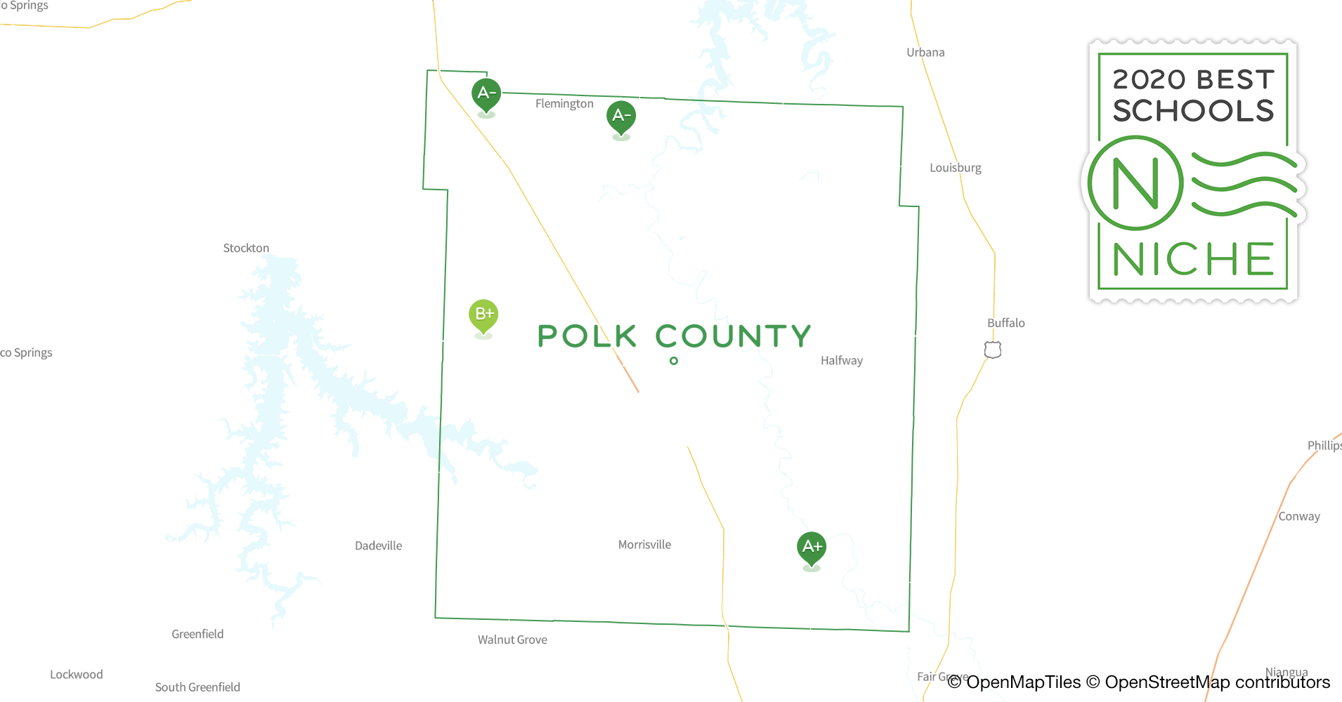 School Districts in Polk County, MO - Niche