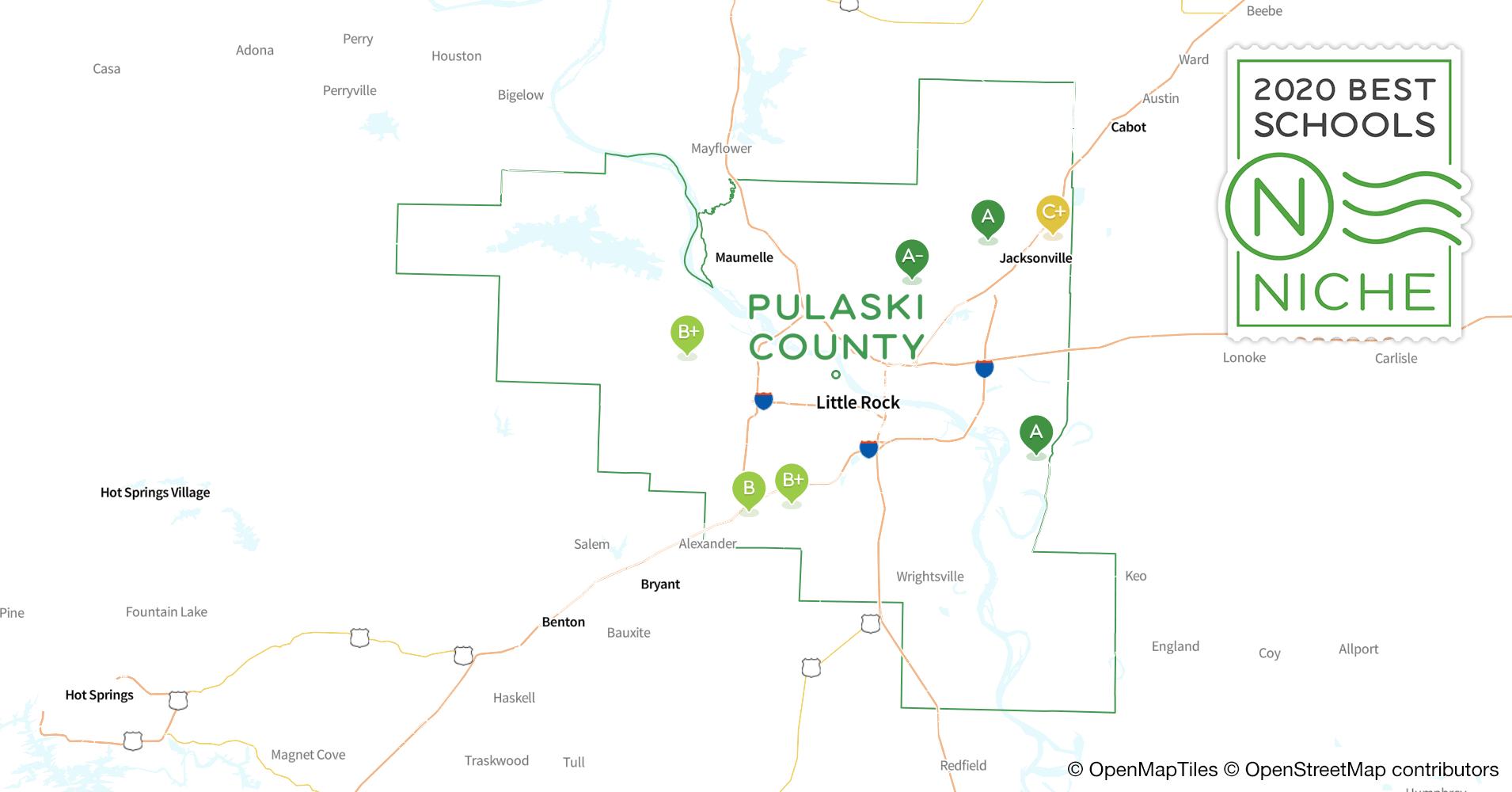 School Districts in Pulaski County, AR - Niche