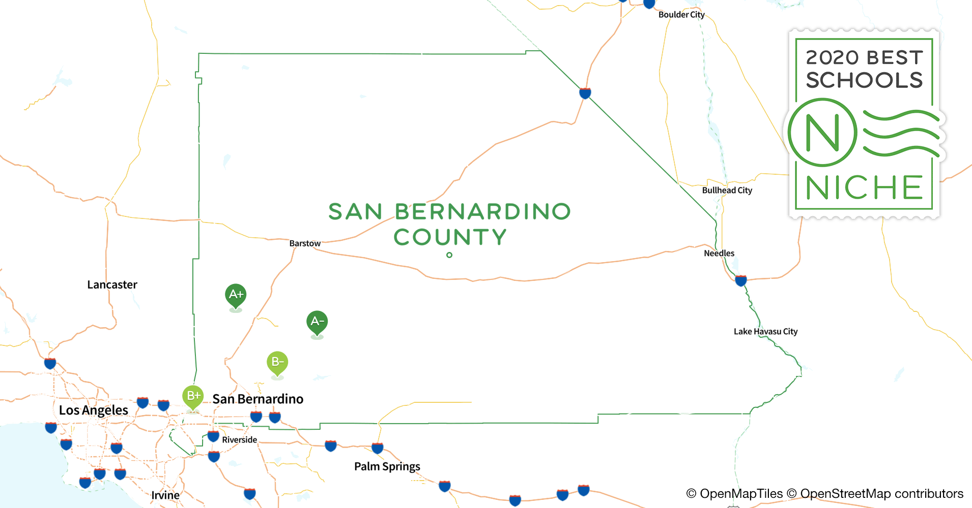 Districts in San Bernardino County, CA - Niche on rancho cucamonga map, canyon crest map, downtown l.a. map, moreno valley map, banning map, desert cities map, south coast metro map, fontana map, sacramento map, mission gorge map, bernardino county map, ventura county map, santa clara map, riverside map, palm springs map, downieville map, mt. san antonio map, sonoma co map, brigham city map, imperial valley map,