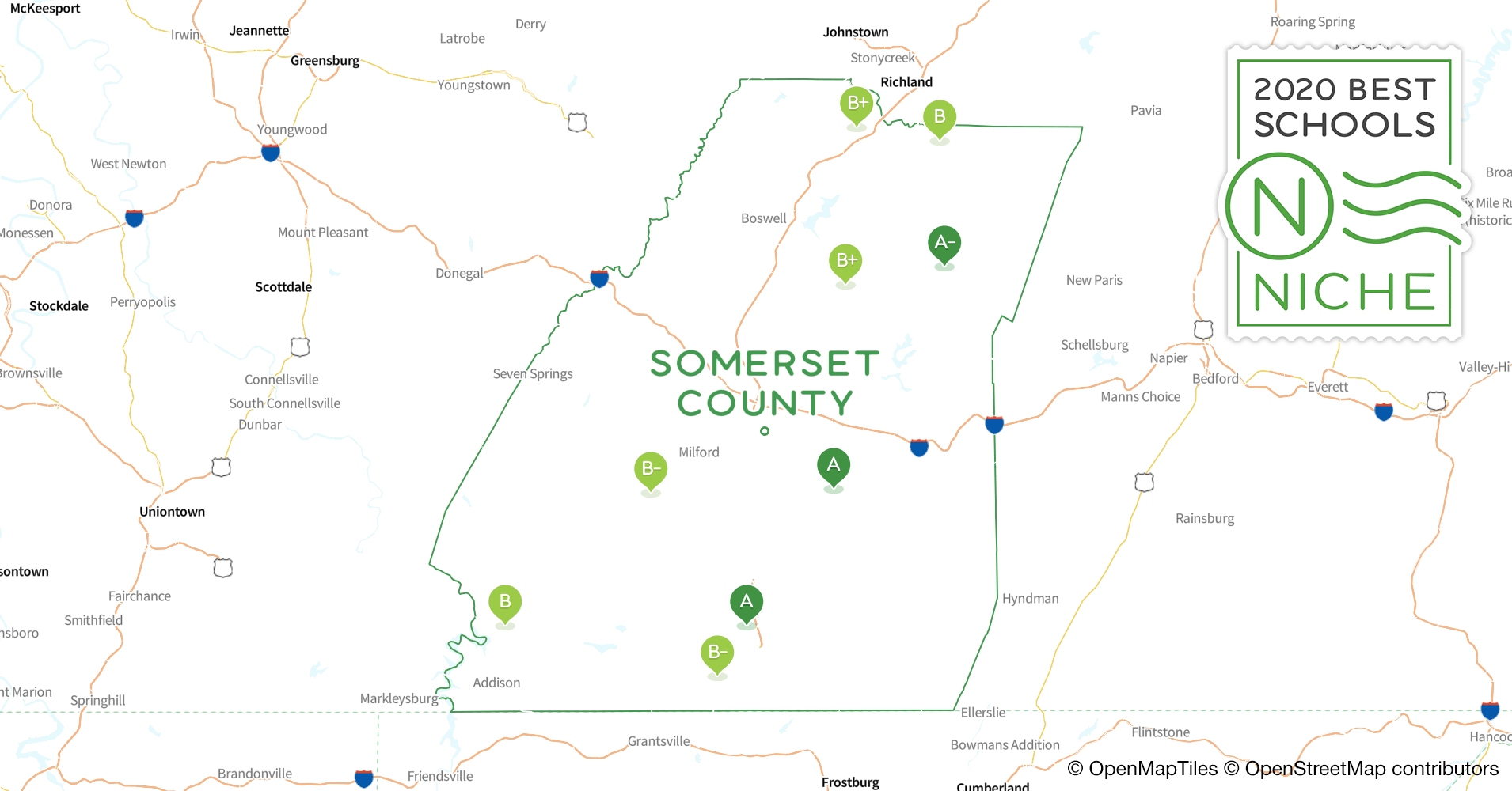 Districts in Somerset County, PA - Niche on maps of warren pa, maps of wellsboro pa, maps of pleasantville pa, maps of quakertown pa, maps of oxford pa, maps of milford township pa, maps of tamaqua pa, maps of vestaburg pa, maps of chambersburg pa, maps of souderton pa, maps of lancaster pa, map of duncansville pa, maps of hershey pa, maps of new castle pa, maps of butler pa, map of towanda pa, maps of huntingdon pa, maps of doylestown pa, maps of bradford pa, street map of ebensburg pa,