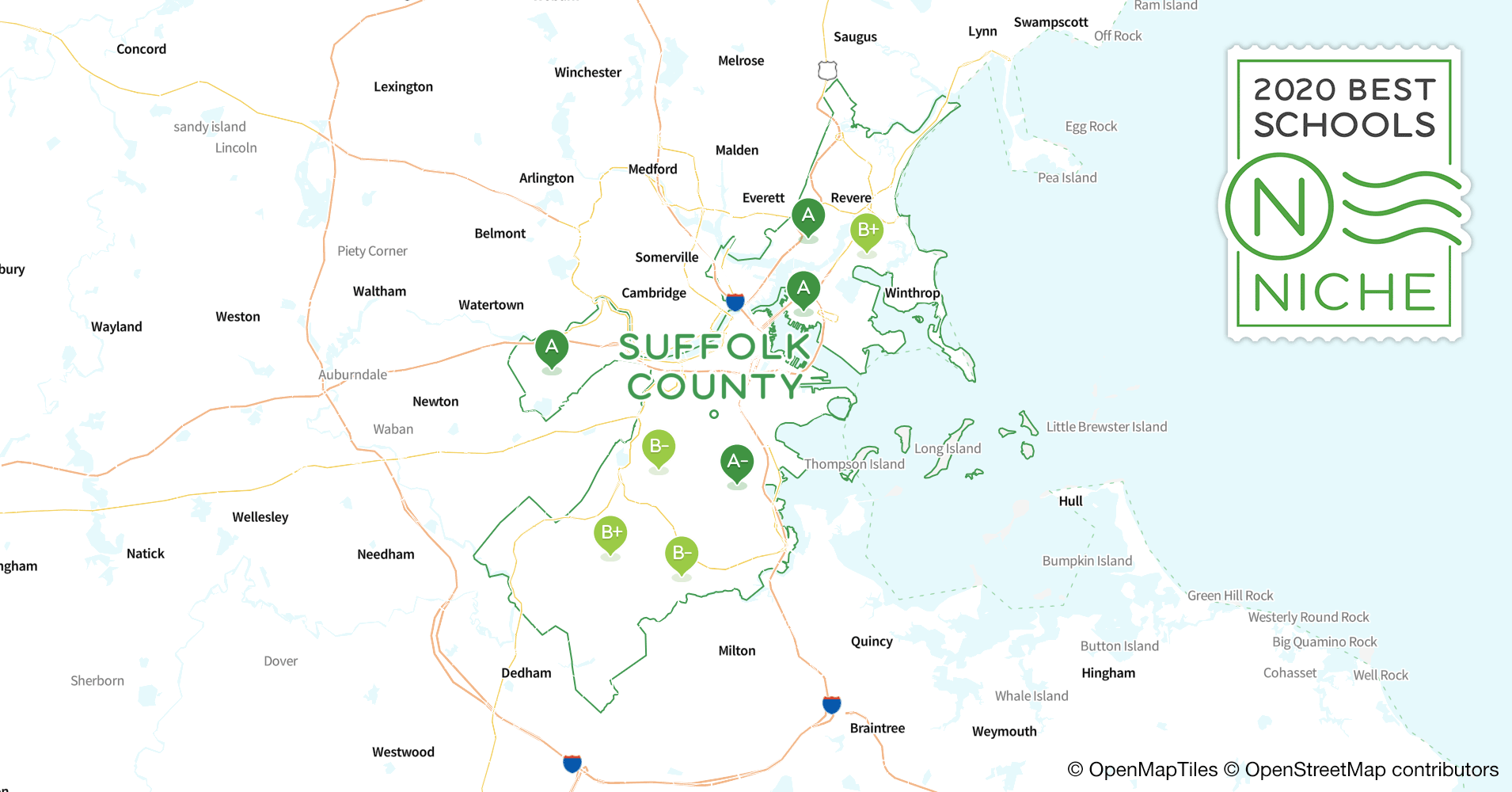 school districts in suffolk county  ma