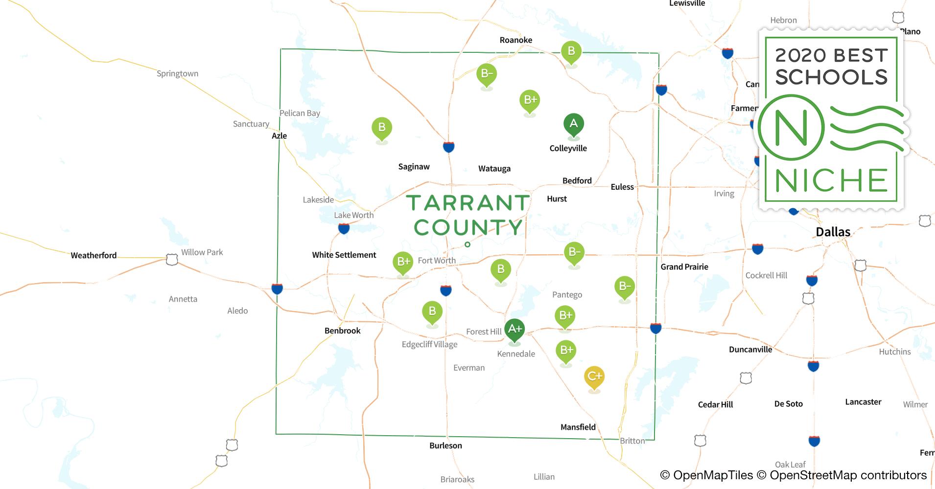 School Districts In Tarrant County Tx Niche