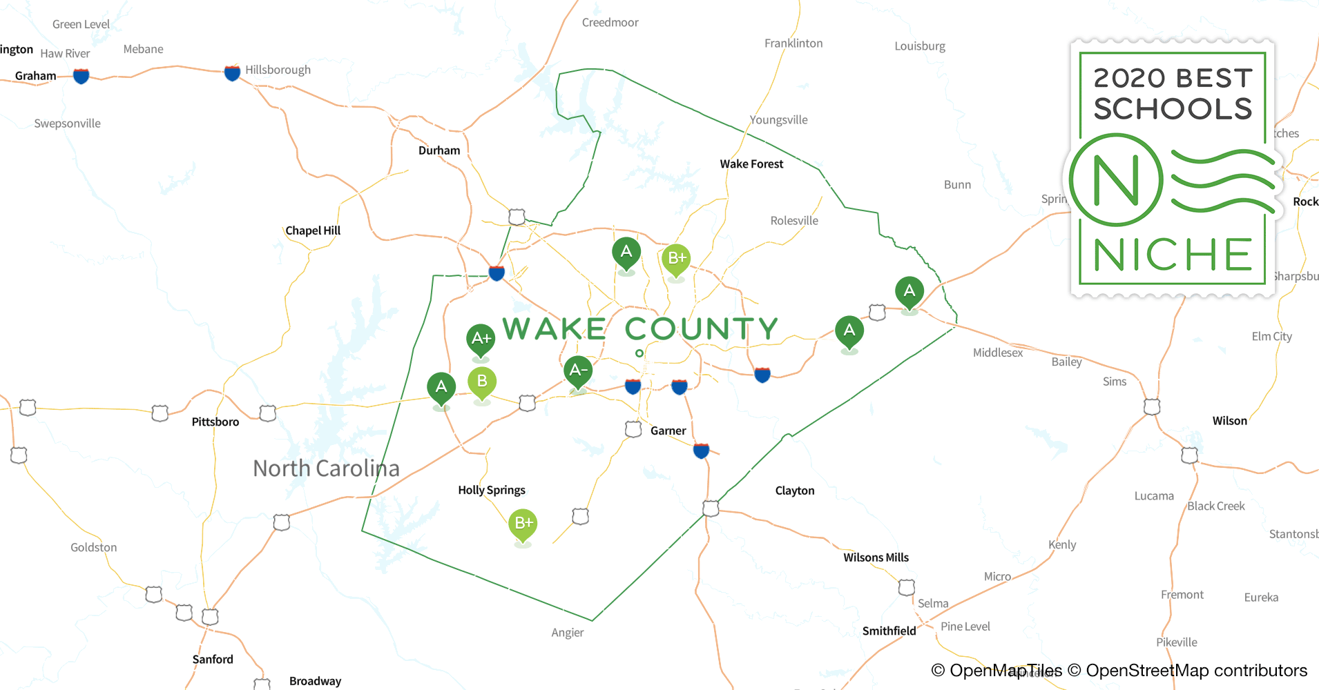 Wake Forest Graduation 2020.2020 Best Public High Schools In Wake County Nc Niche