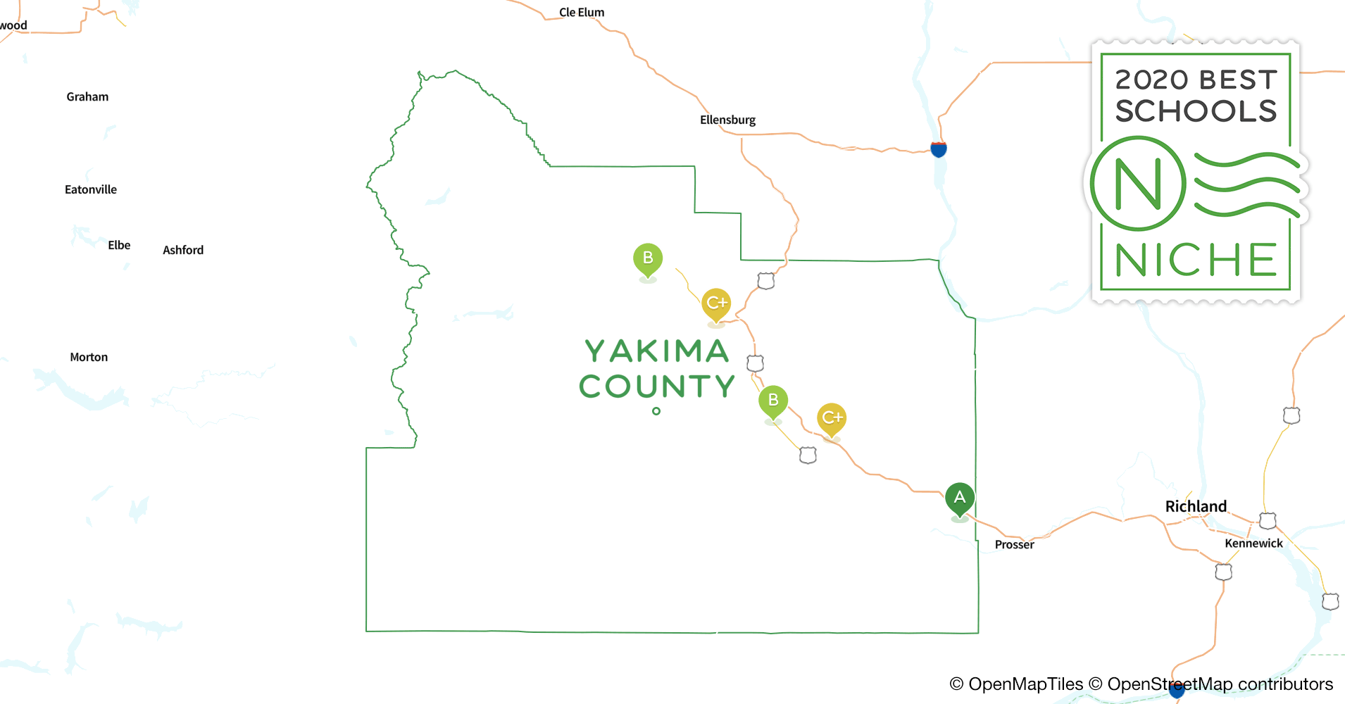 2020 Best High s in Yakima County, WA - Niche Yakima County Map on whatcom county, yakima wa history, northwest ga county map, pierce county, wenatchee county map, spokane county, san juan county, lewis county, grays harbor county, yakima area wineries, roosevelt county map, chelan county map, columbia county, yakima weather, yakima union gap wa, lincoln county, skagit county, clark county map, yakima washington, snohomish county, yakima indian clothing, charlottesville county map, king county, okanogan county, ketchikan county map, mount rainier national park map, jefferson county, kitsap county, clark county, grant county, benton county, yakima eisenhower high school, yakima mall, washington map, riverside county map, rowan county ky map, franklin county, yakima restaurants,
