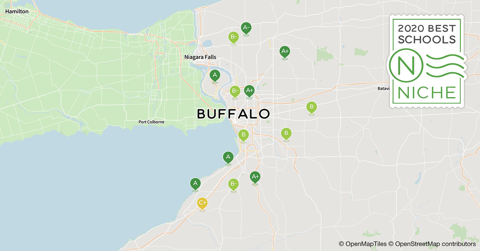 Buffalo Business First School Rankings 2020.2020 Best Public Elementary Schools In The Buffalo Area Niche