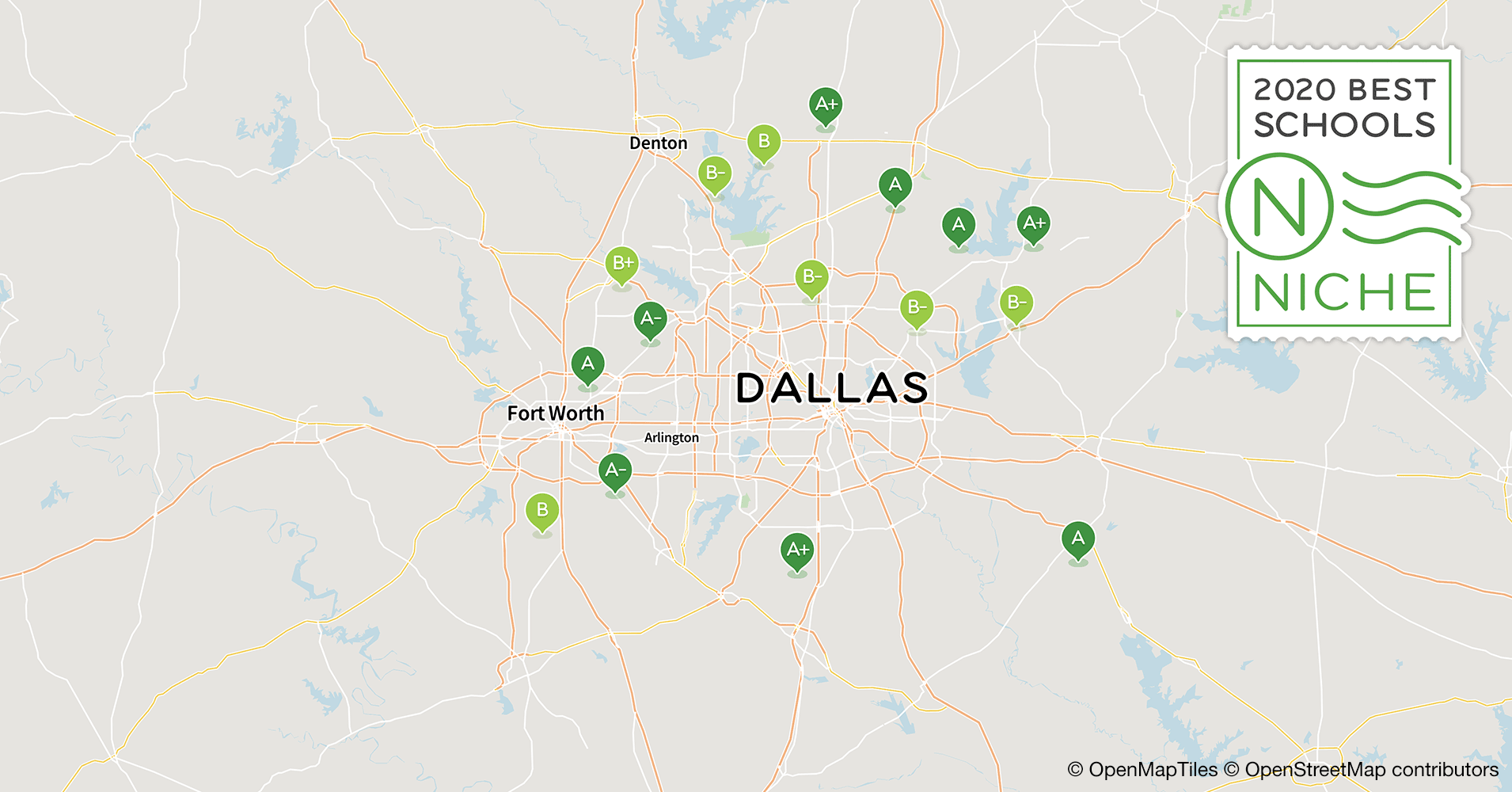 2020 Best School Districts in the Dallas-Fort Worth Area - Niche