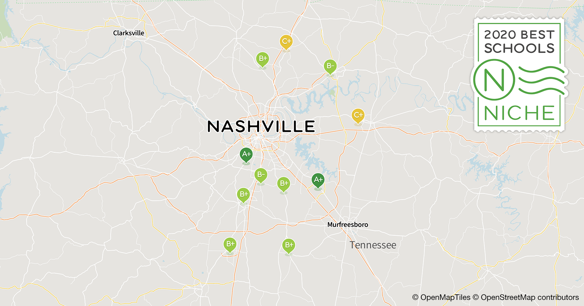 2020 Best School Districts in the Nashville Area - Niche