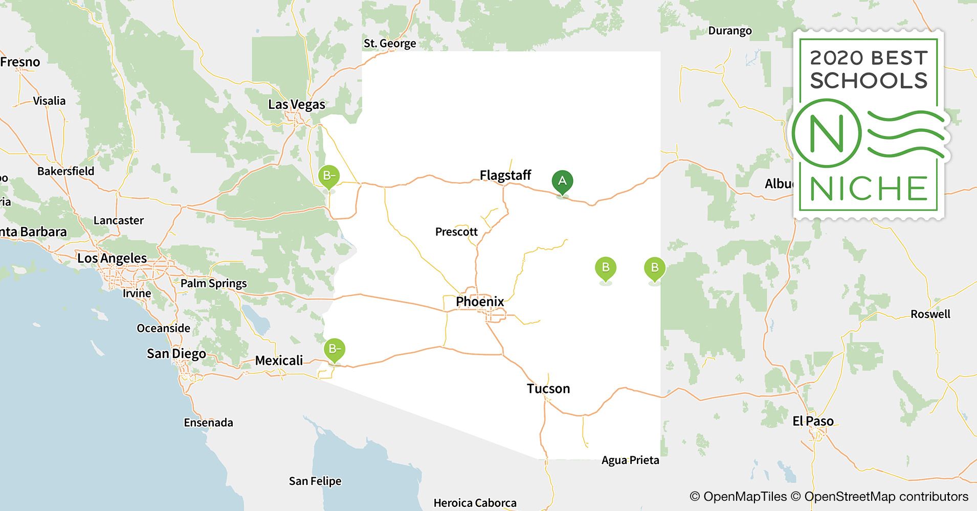 2020 Largest School Districts in Arizona - Niche