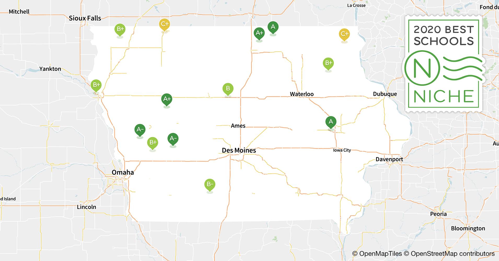 2020 Best School Districts in Iowa - Niche