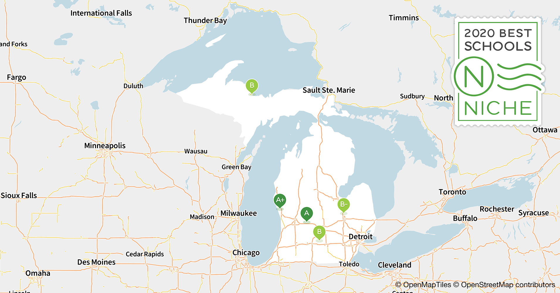 2020 Best School Districts in Michigan - Niche