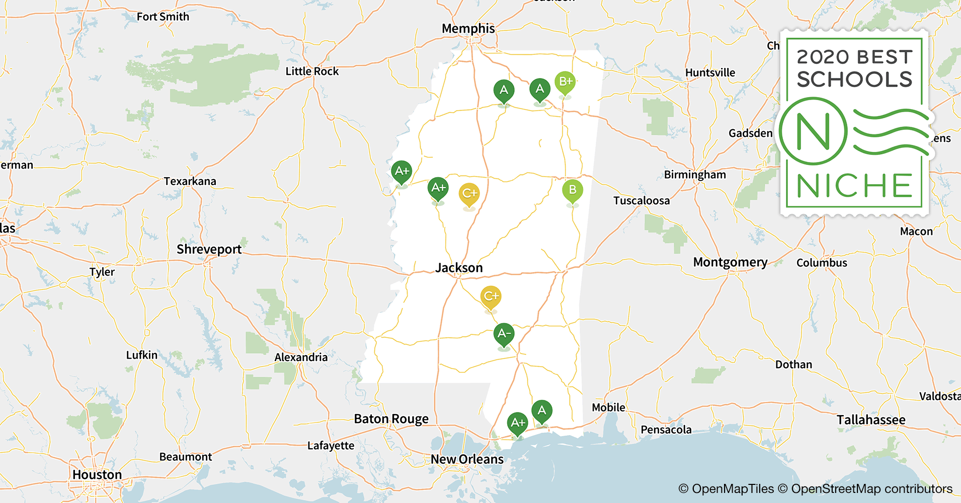2020 Best Private High Schools in Mississippi - Niche