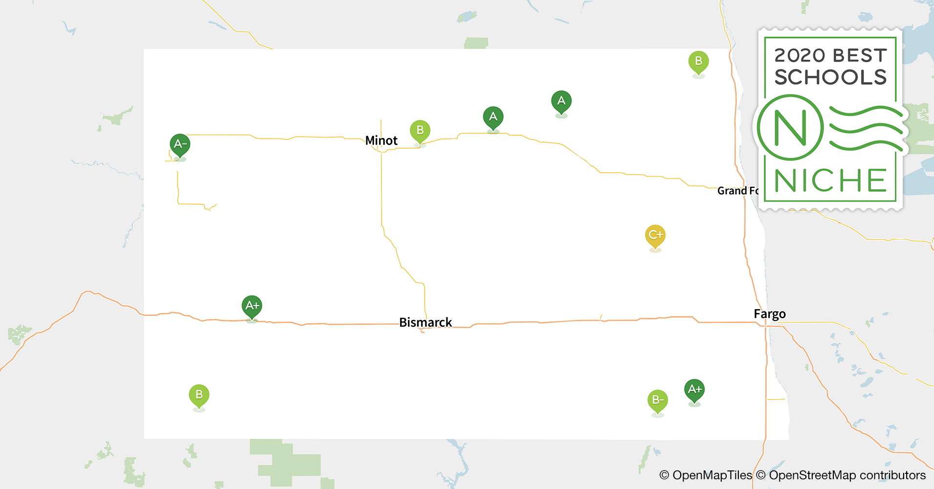 2020 Best School Districts in North Dakota - Niche