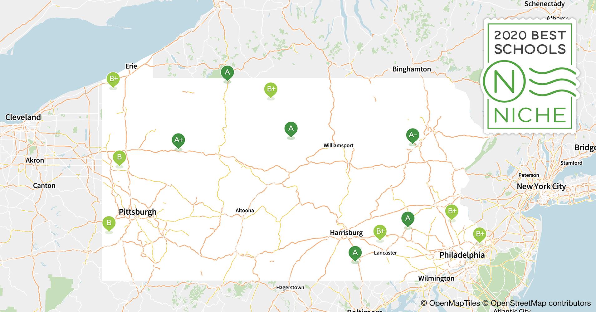 Best Pa Schools >> 2020 Best School Districts In Pennsylvania Niche