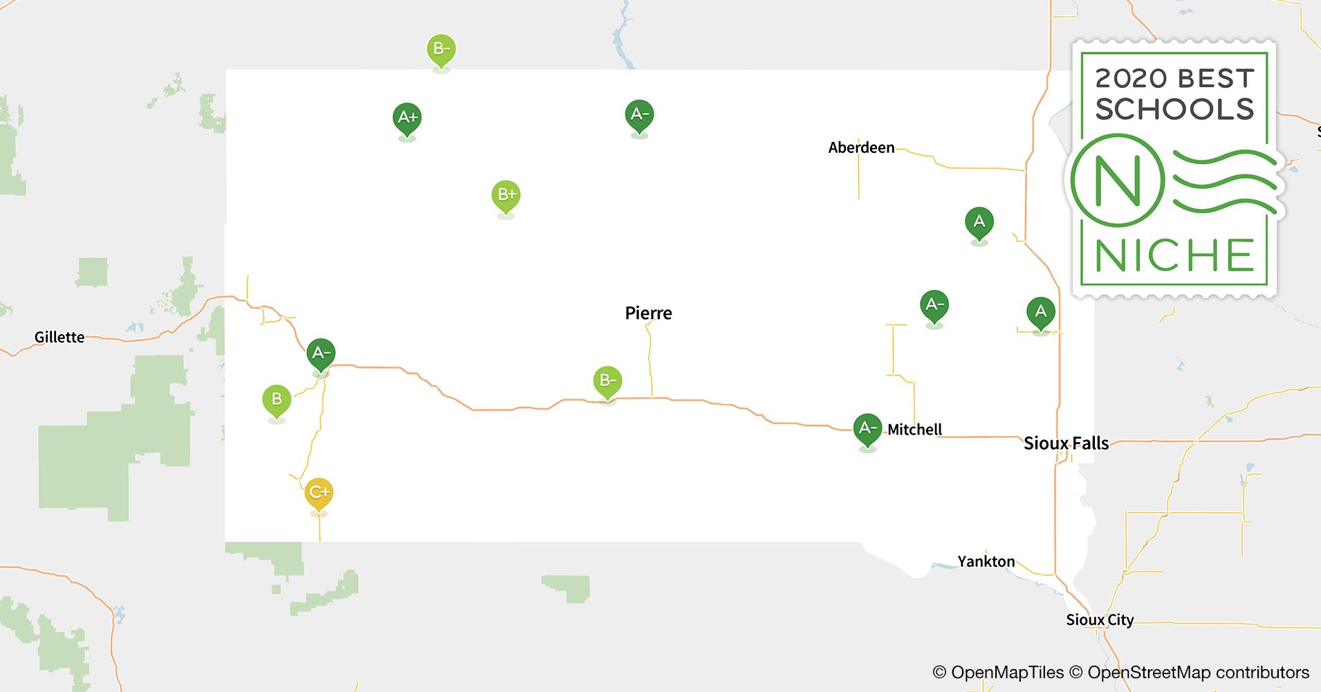 2020 Largest High Schools in South Dakota - Niche
