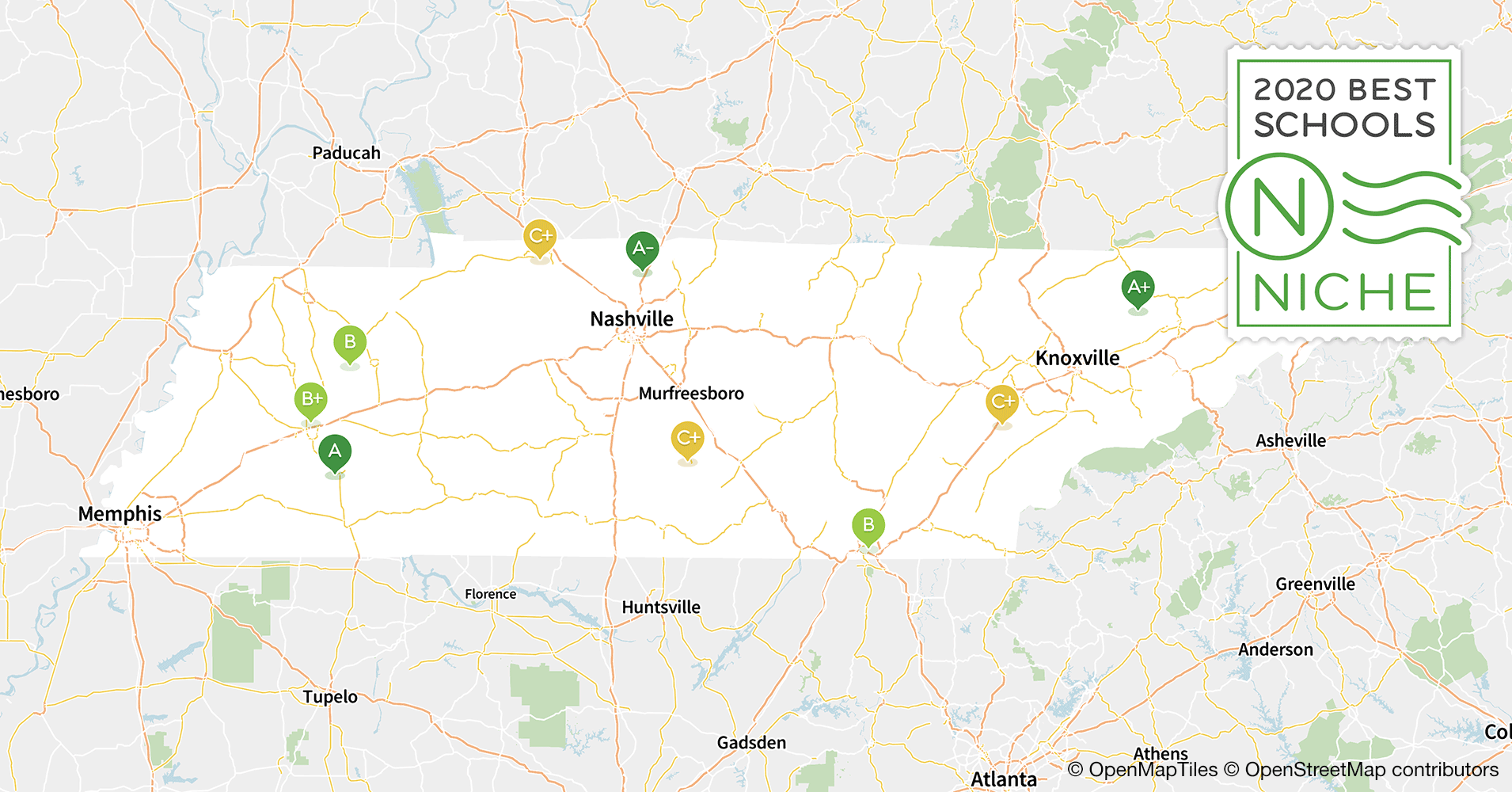 2020 Best Public Middle Schools in Tennessee - Niche