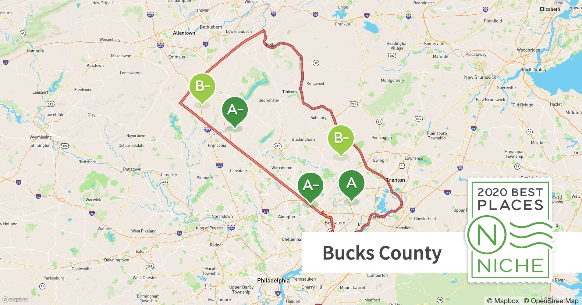 Image of: 2020 Best Places To Live In Bucks County Pa Niche