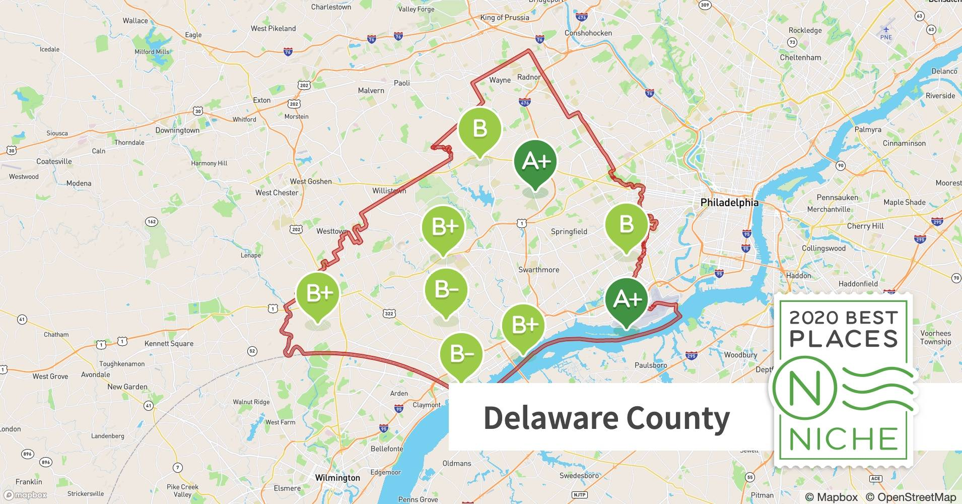 Image of: 2020 Best Places To Live In Delaware County Pa Niche